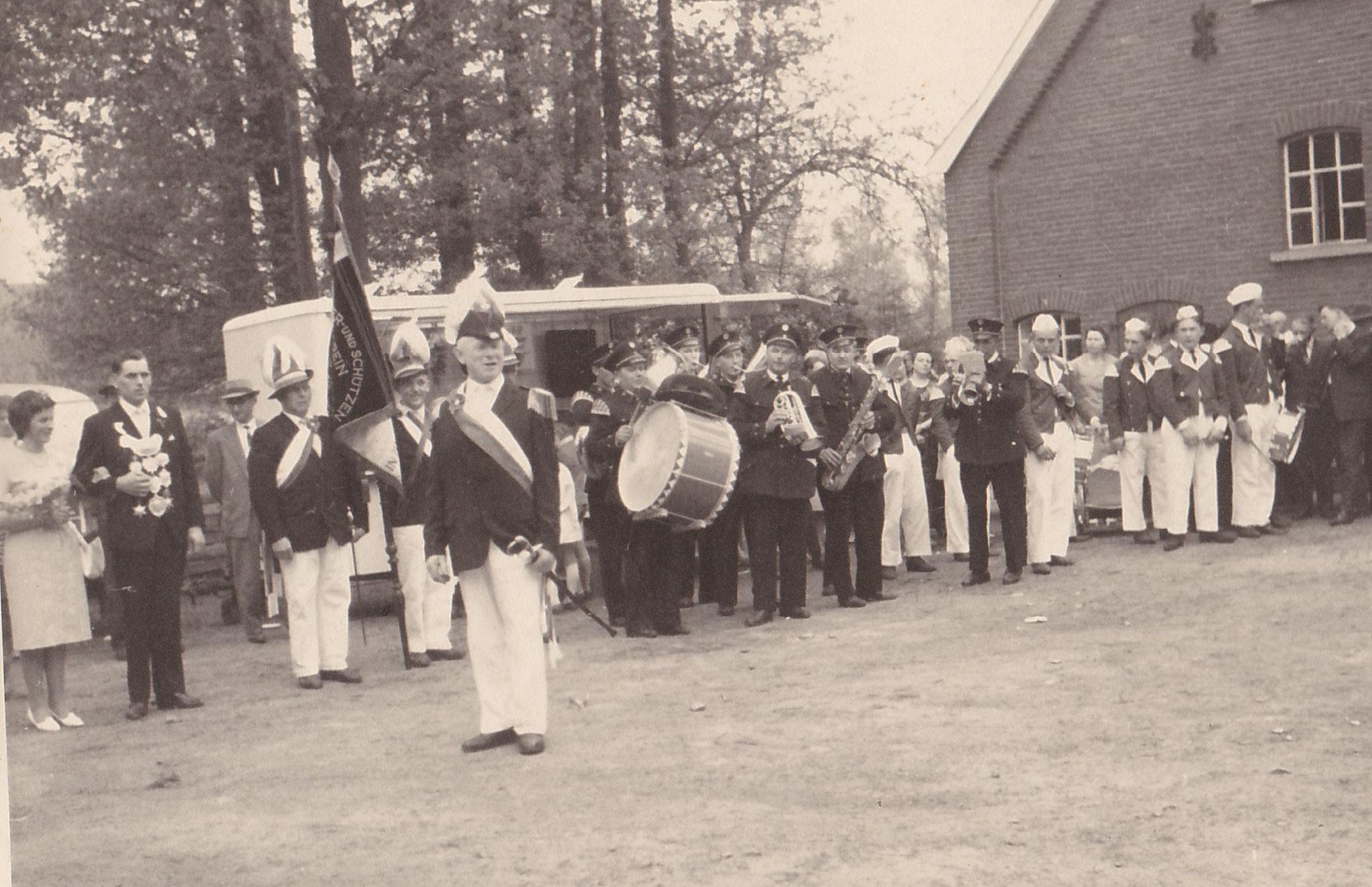 Schützenfest Wennewick 1964 auf dem Hof Temminghoff-Winkelhorst