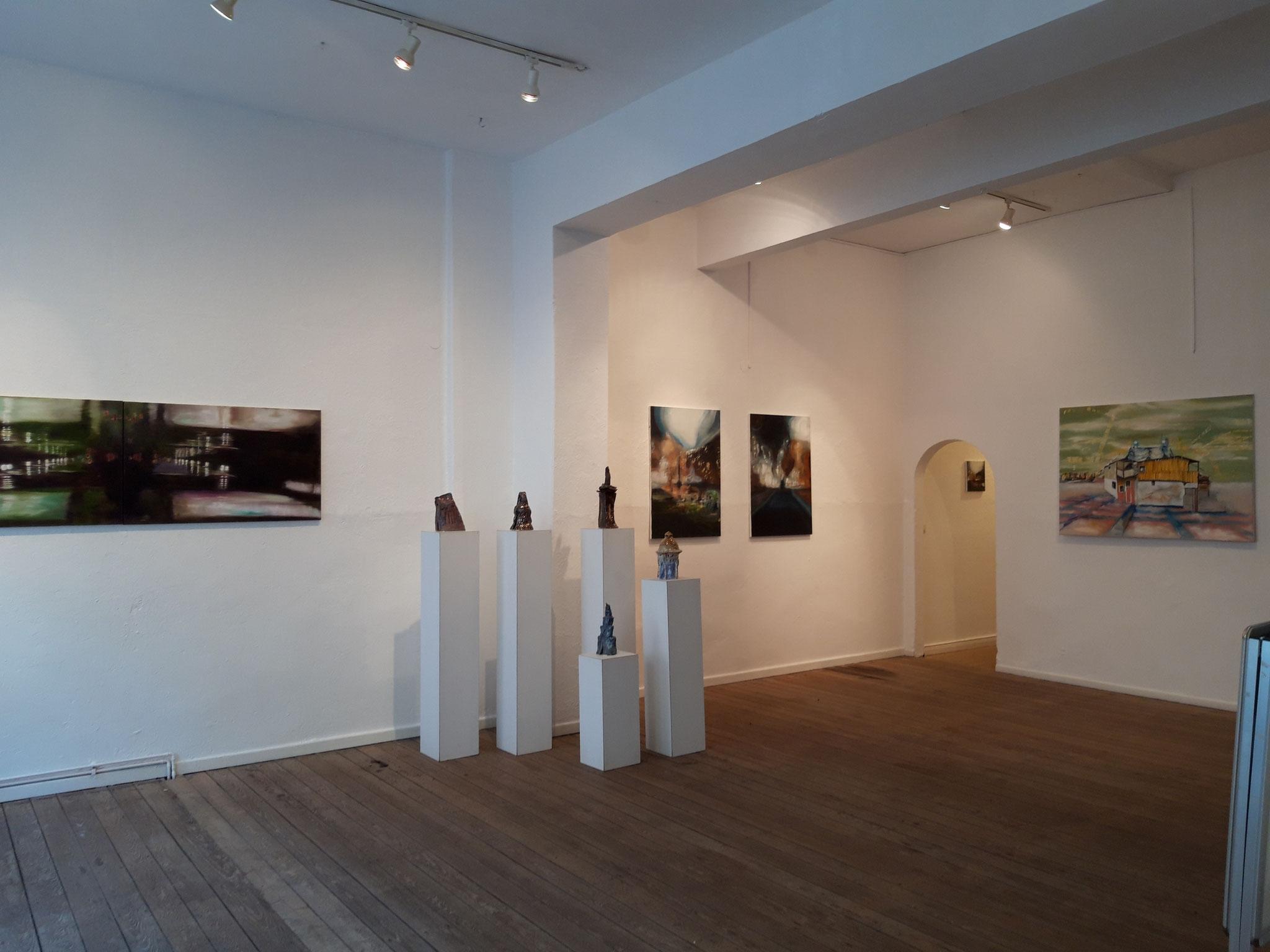 Ausstellungsansicht Galerie 149, Bremerhaven 2019