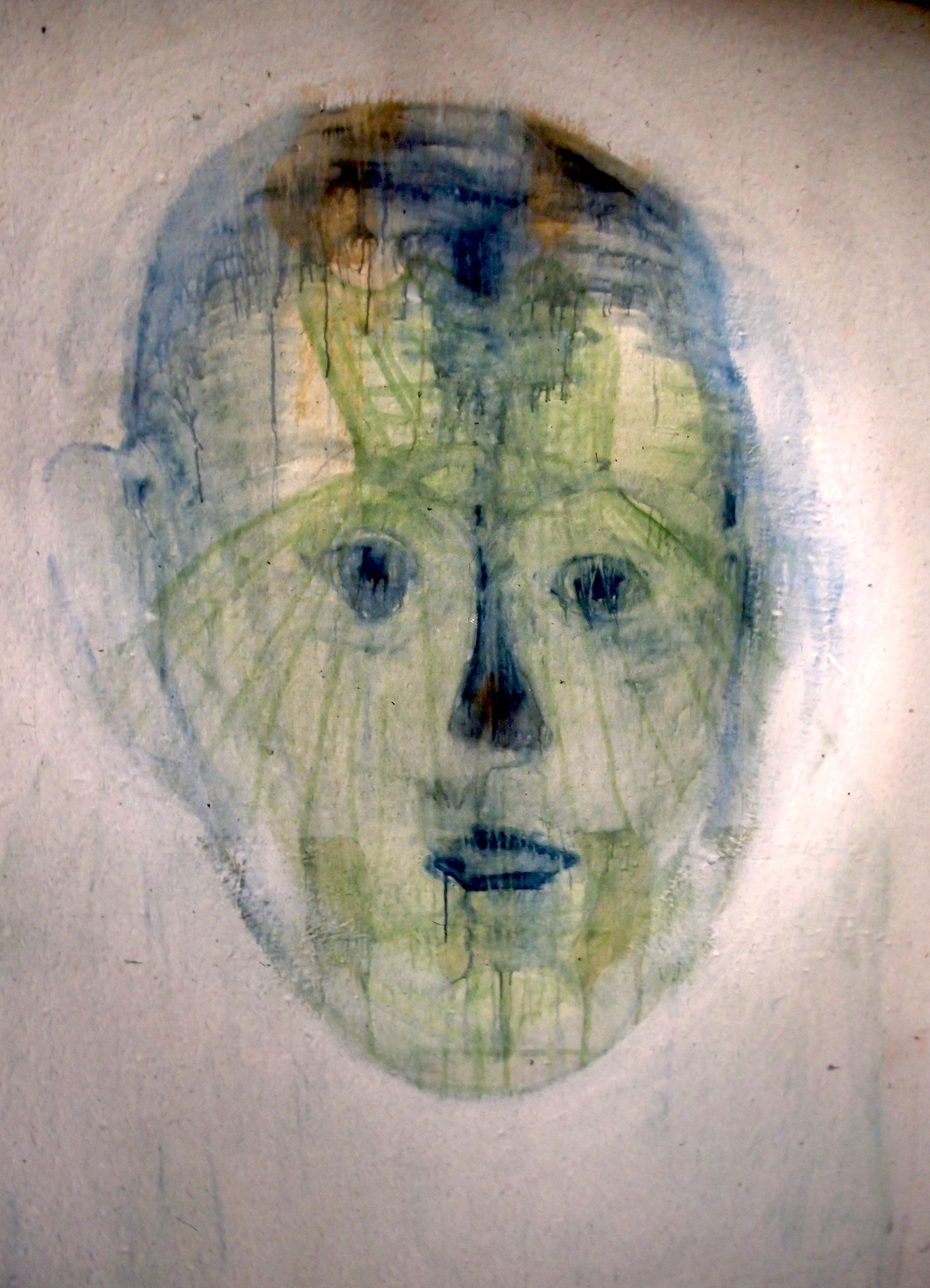 Wandmalerei 1998, Ecole national supérieur de beaux Arts (ENSBA) Paris
