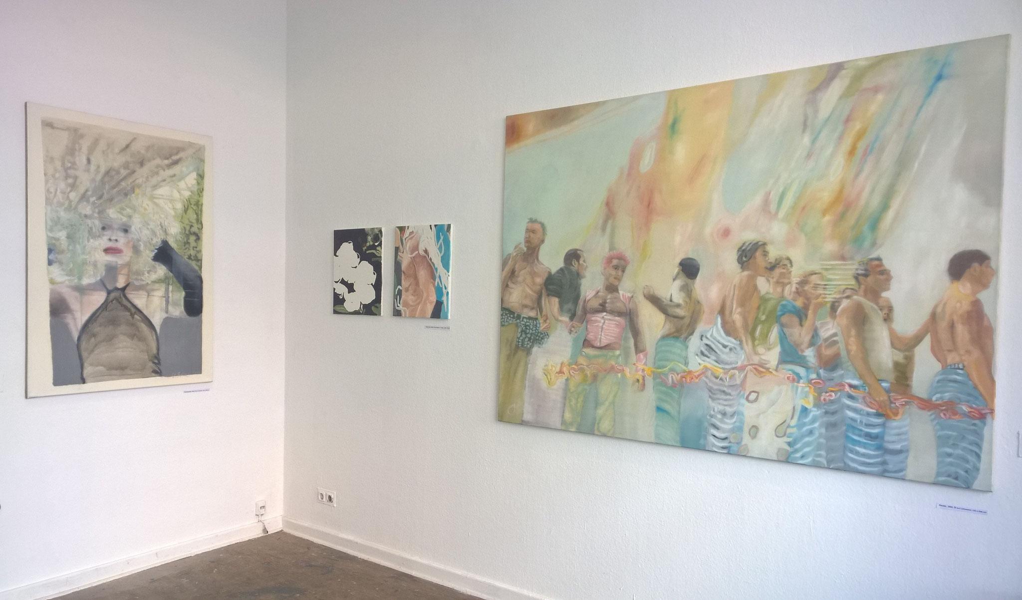 Ausstellungsansicht, Galerie Knuth & Krüger, Berlin, 2018
