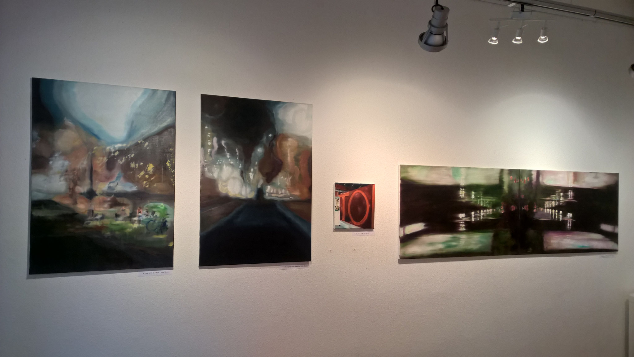Ausstellungsansicht Galerie Udo Würtenberger, Berlin 2018