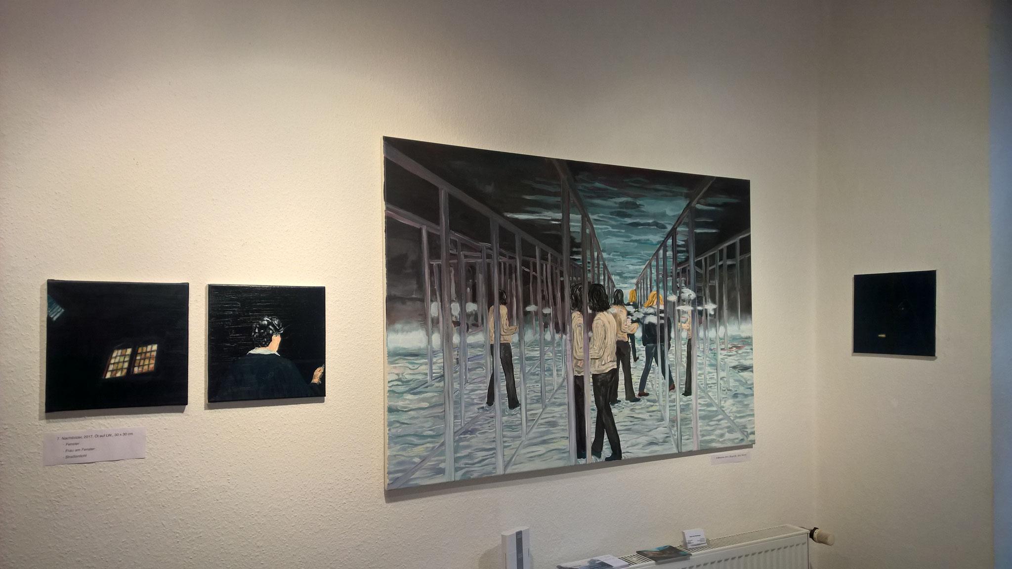 Ausstellungsansicht Galerie Udo Würtenberger, Berlin, 2018