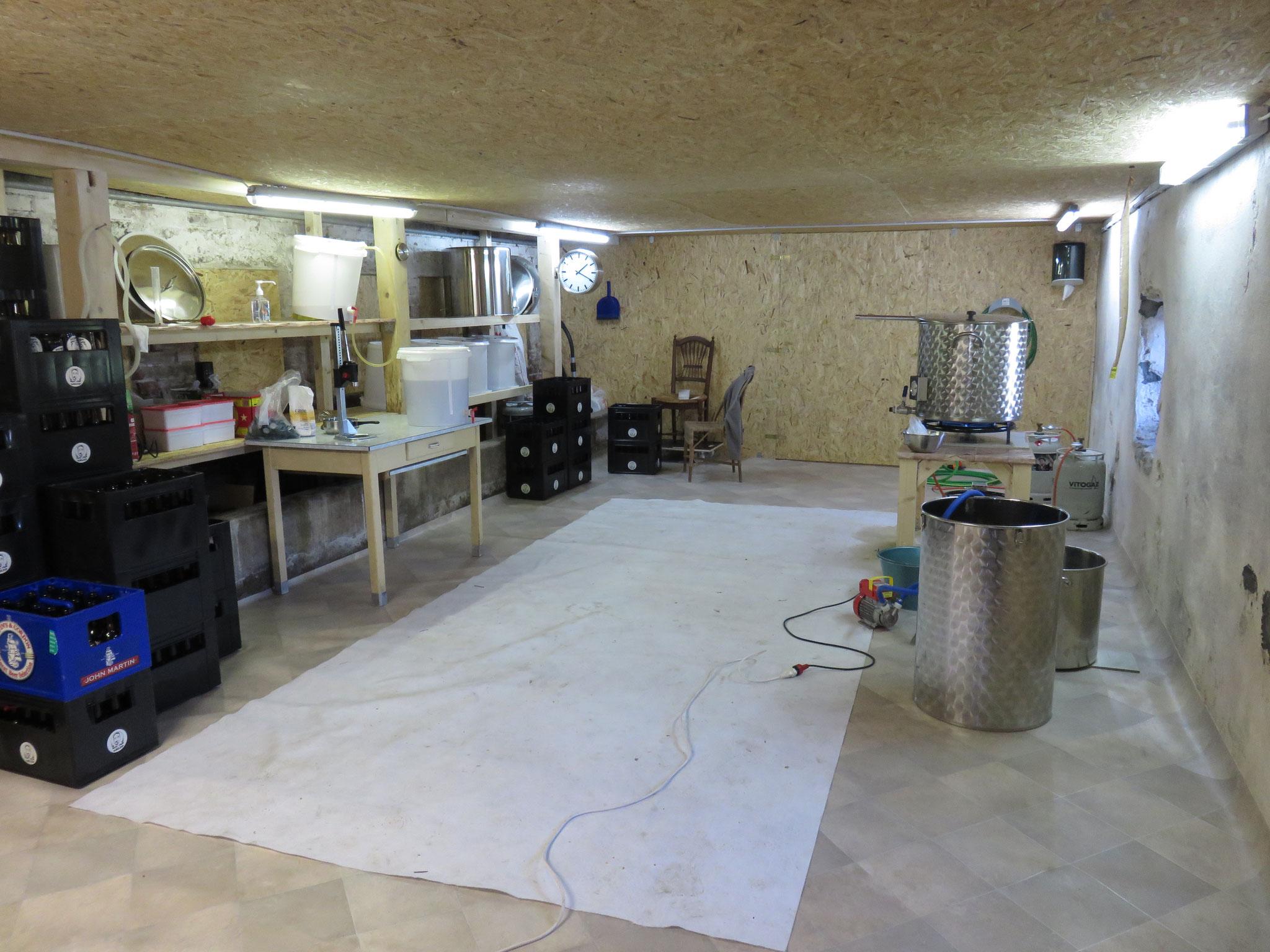 La brasserie prête à accueillir
