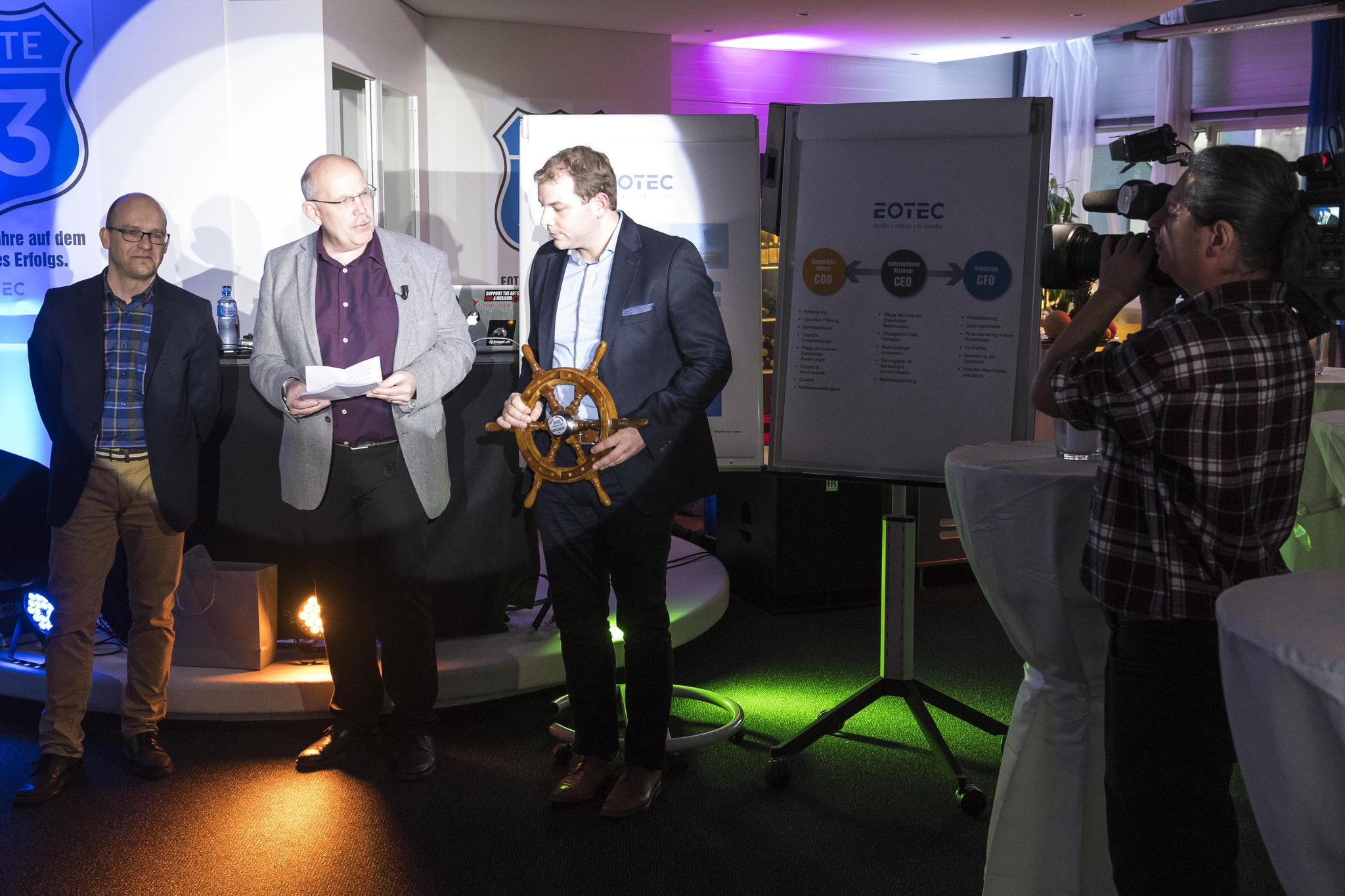 Stefan Schröder Martin Hänggi 33 Jahre Eotec AG