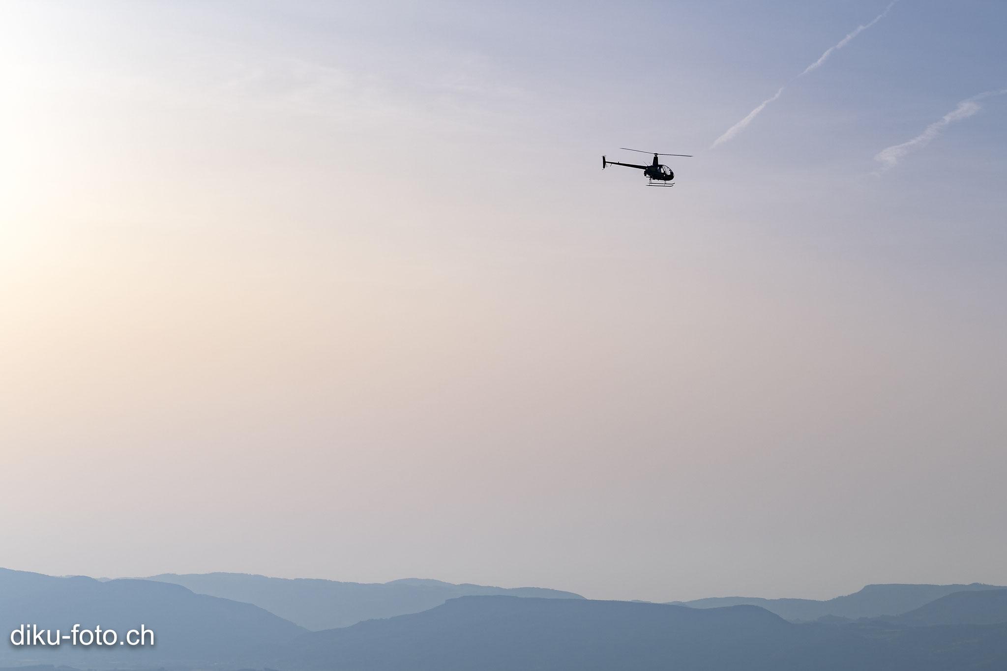 Handyballon Helikopter HB-ZNE