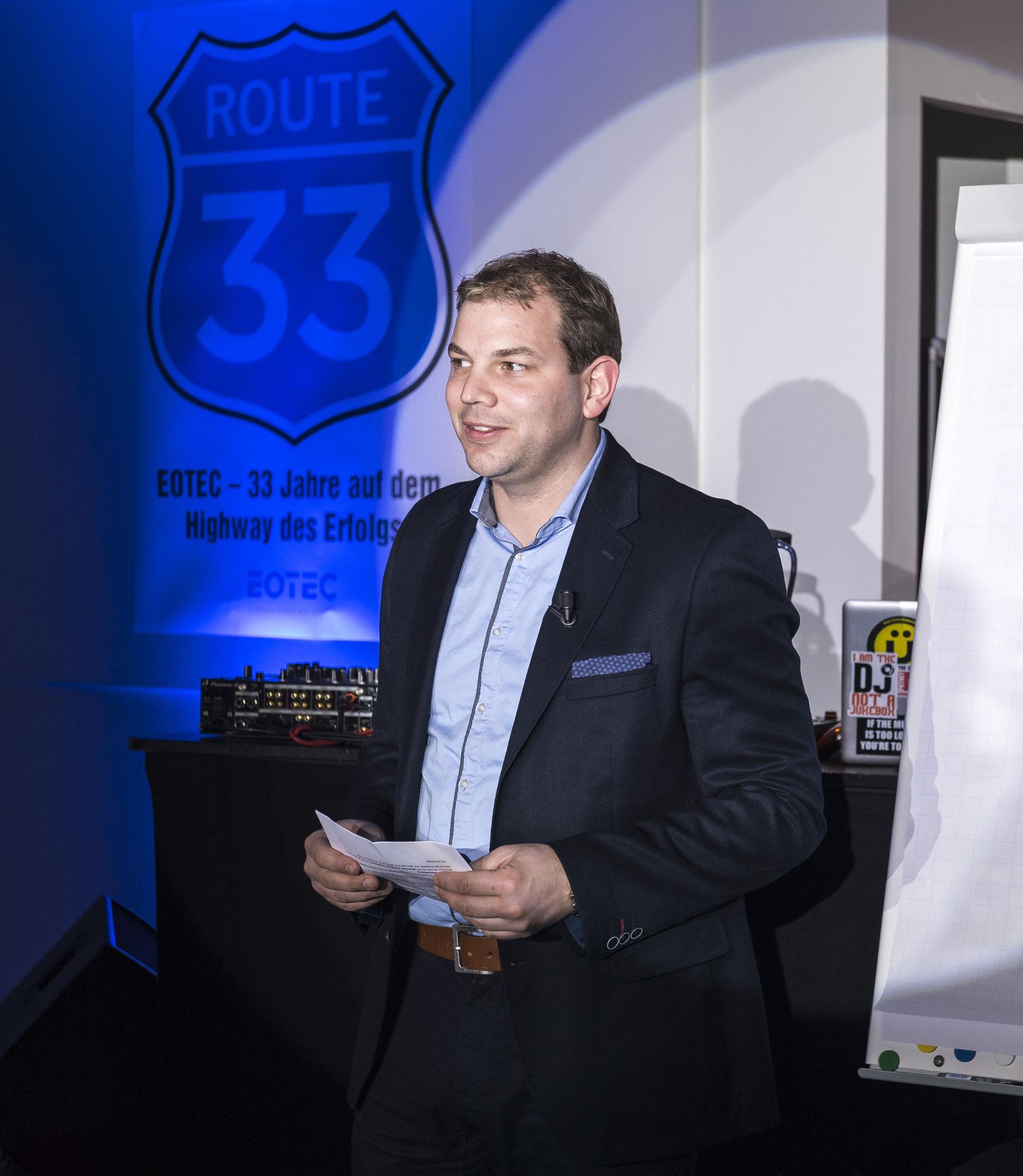 Martin Hänggi 33 Jahre Eotec AG