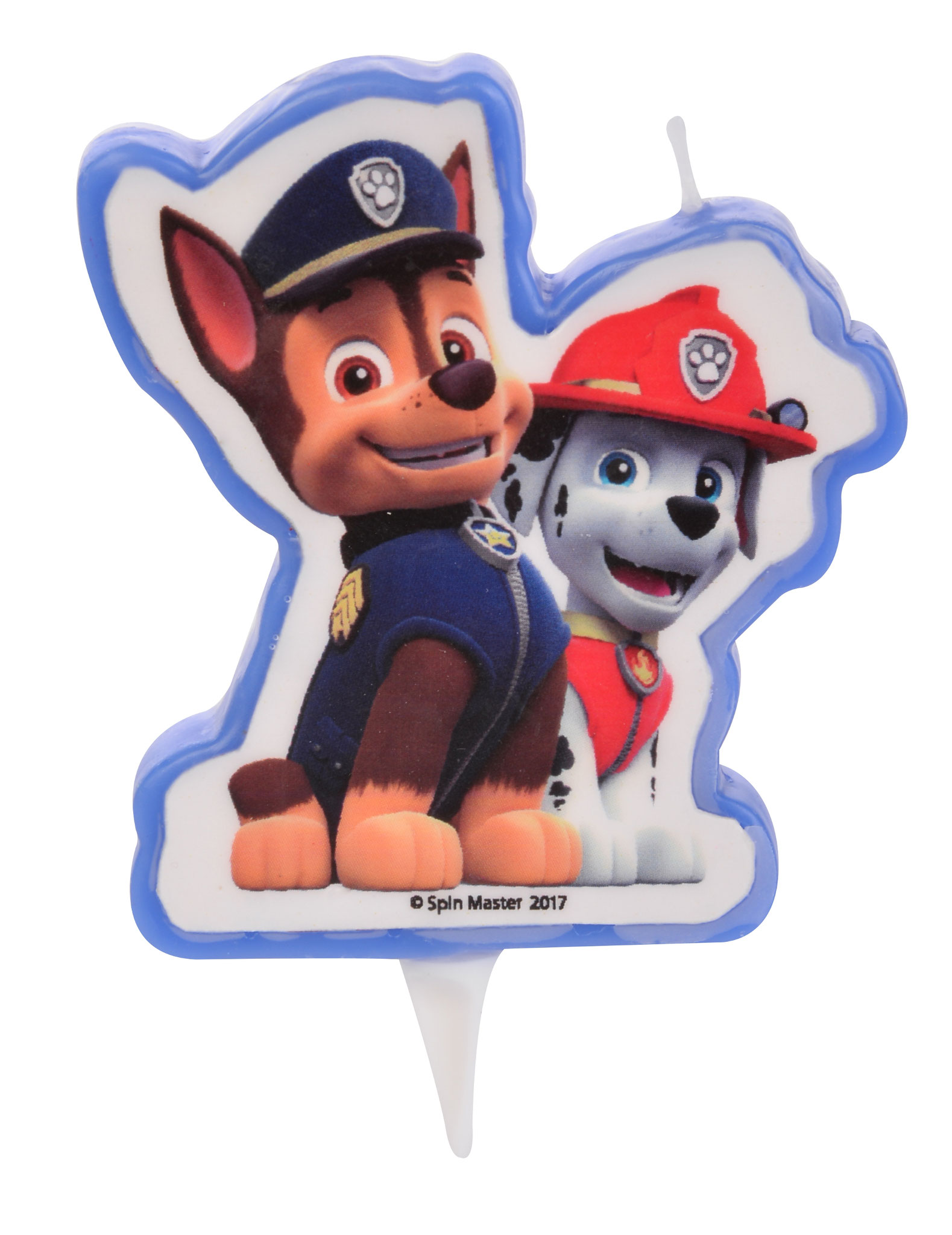 Candela di compleanno Paw Patrol
