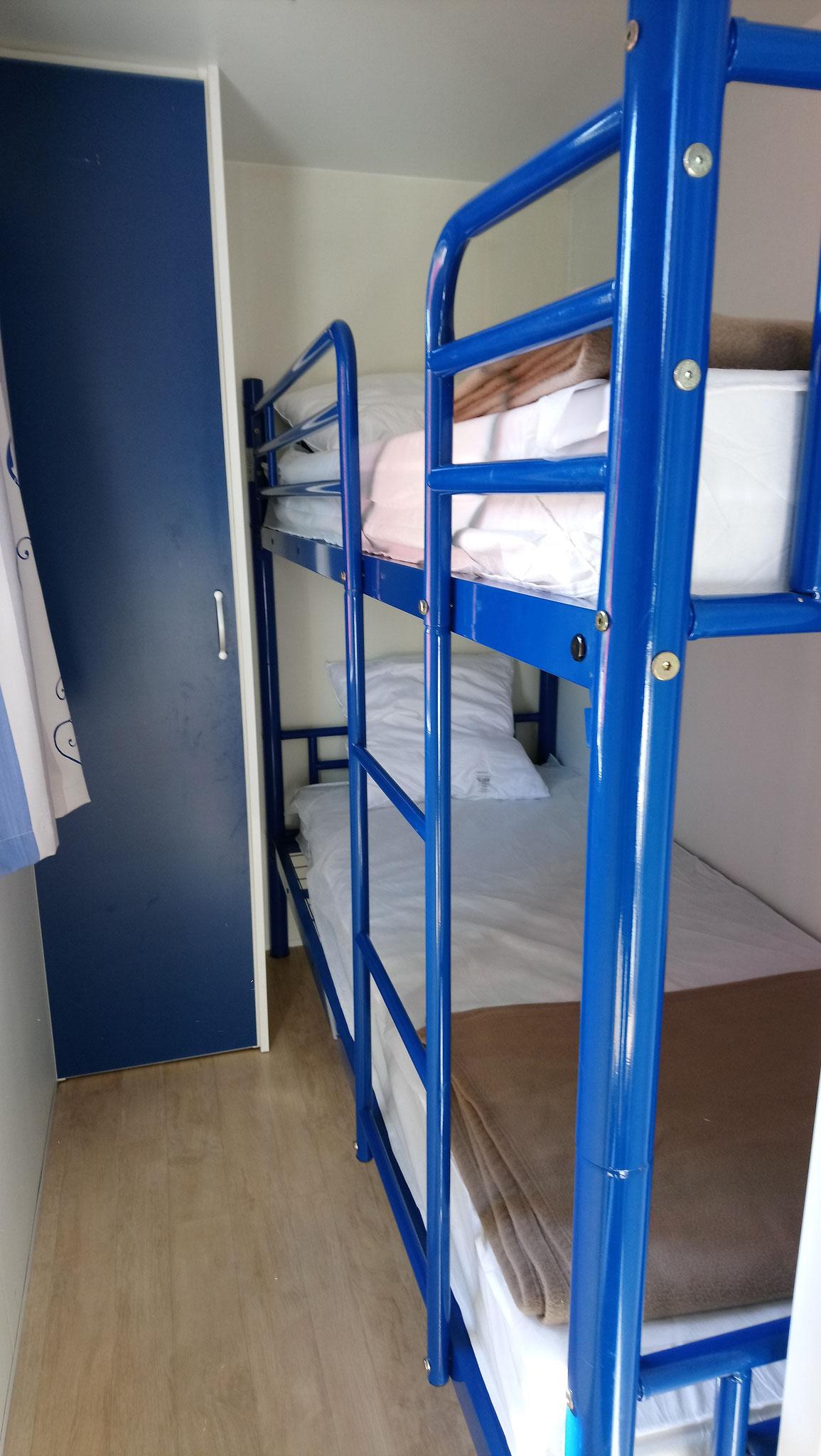 Sympa 29 - chambre lits superposés