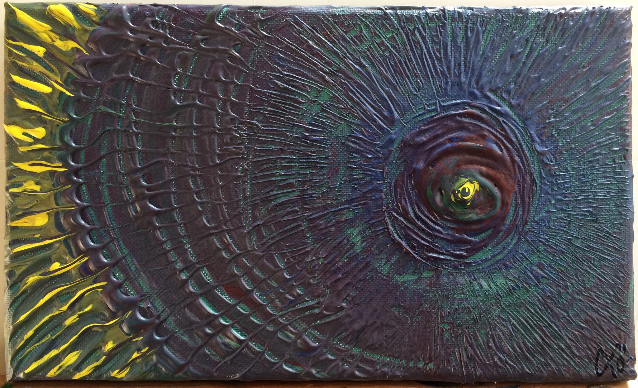 Basalte en fusion - 15 x 25 cm