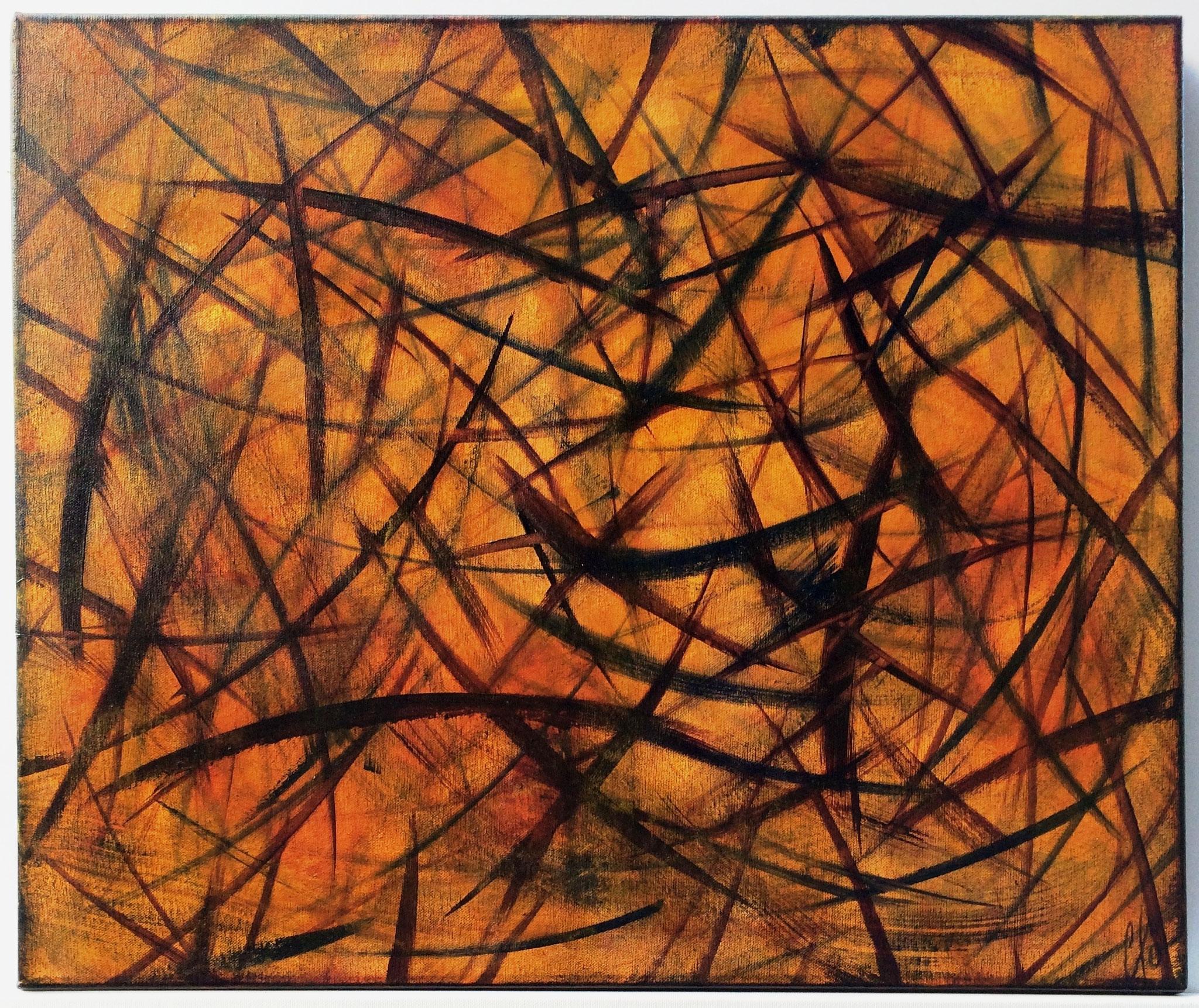 Le mystère - 50 x 60 cm