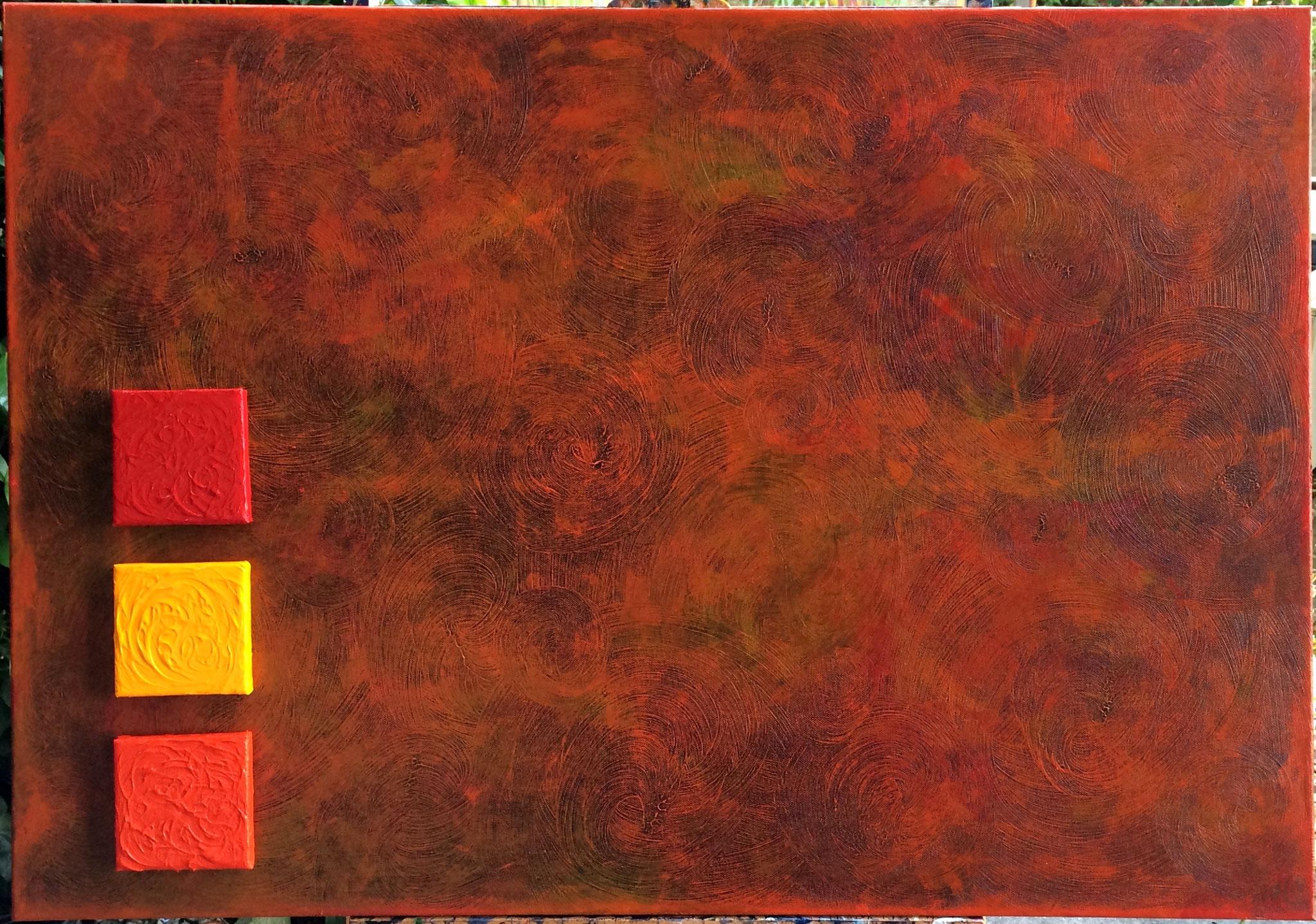 L'incandescence - 70 x 100 cm