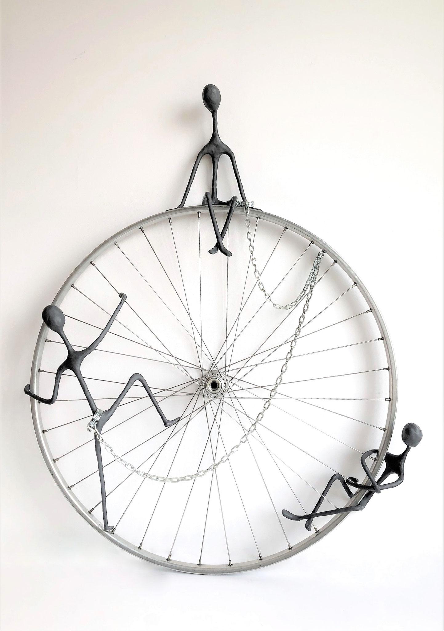 Le cycle de la gloire - H85 x B65 cm