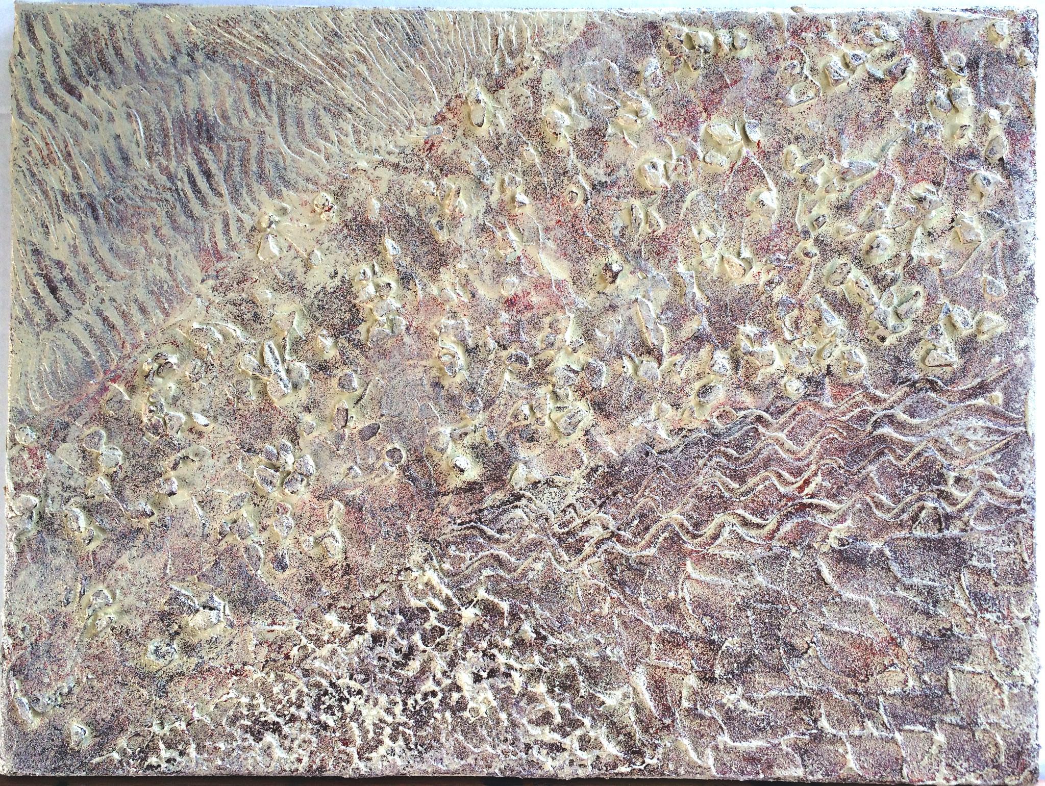 Marée basse - 30 x 40 cm