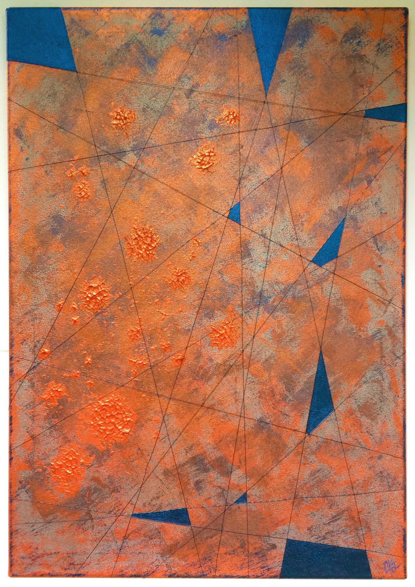 Etincelles - 70 x 100 cm