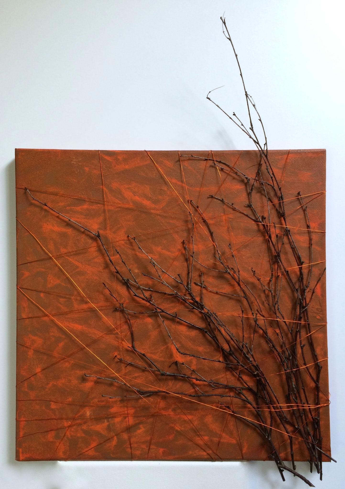 Feuillage d´automne - 40 x 40 cm