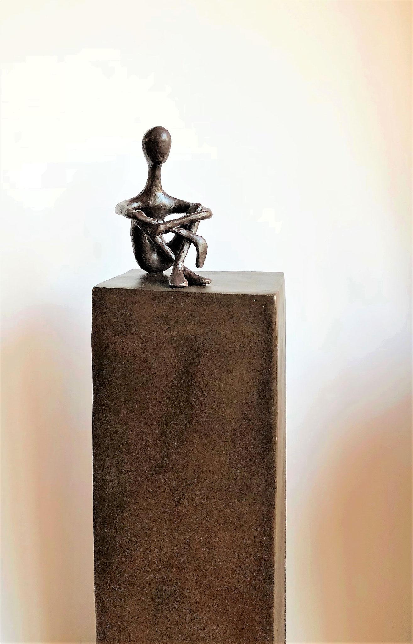 L'ermite - H80 x B20 x T16 cm