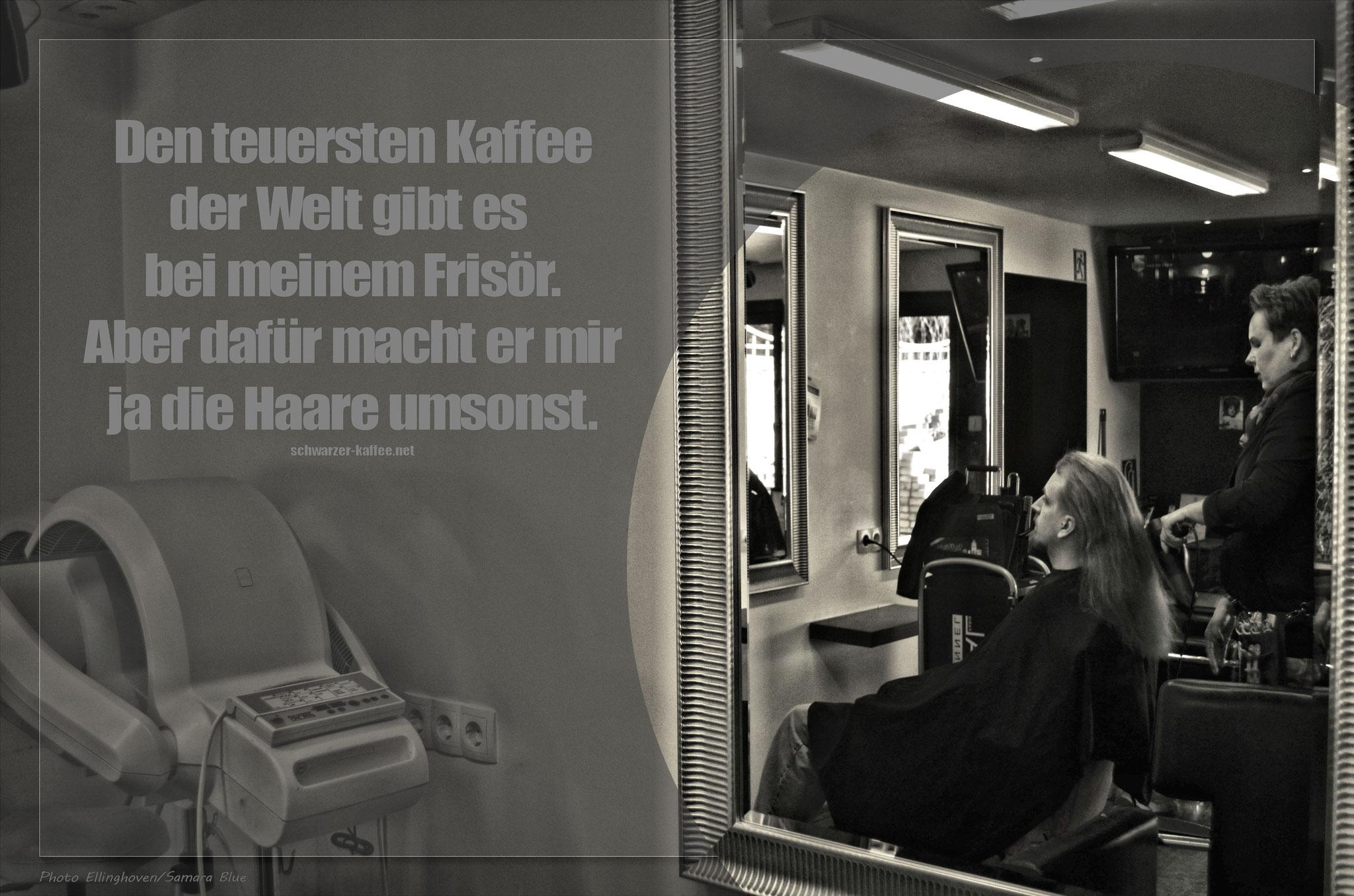 Kurzurlaub beim Lieblingsfrisör -  Haarpartment Bochum - Lady-Sahmara-Photo