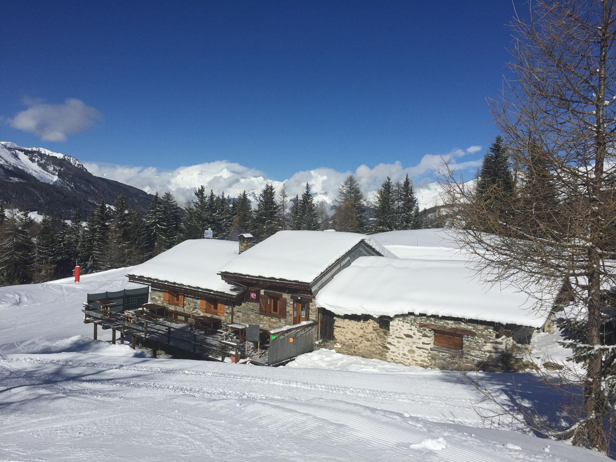 """Restaurant d'altitude """"chez Léon"""""""