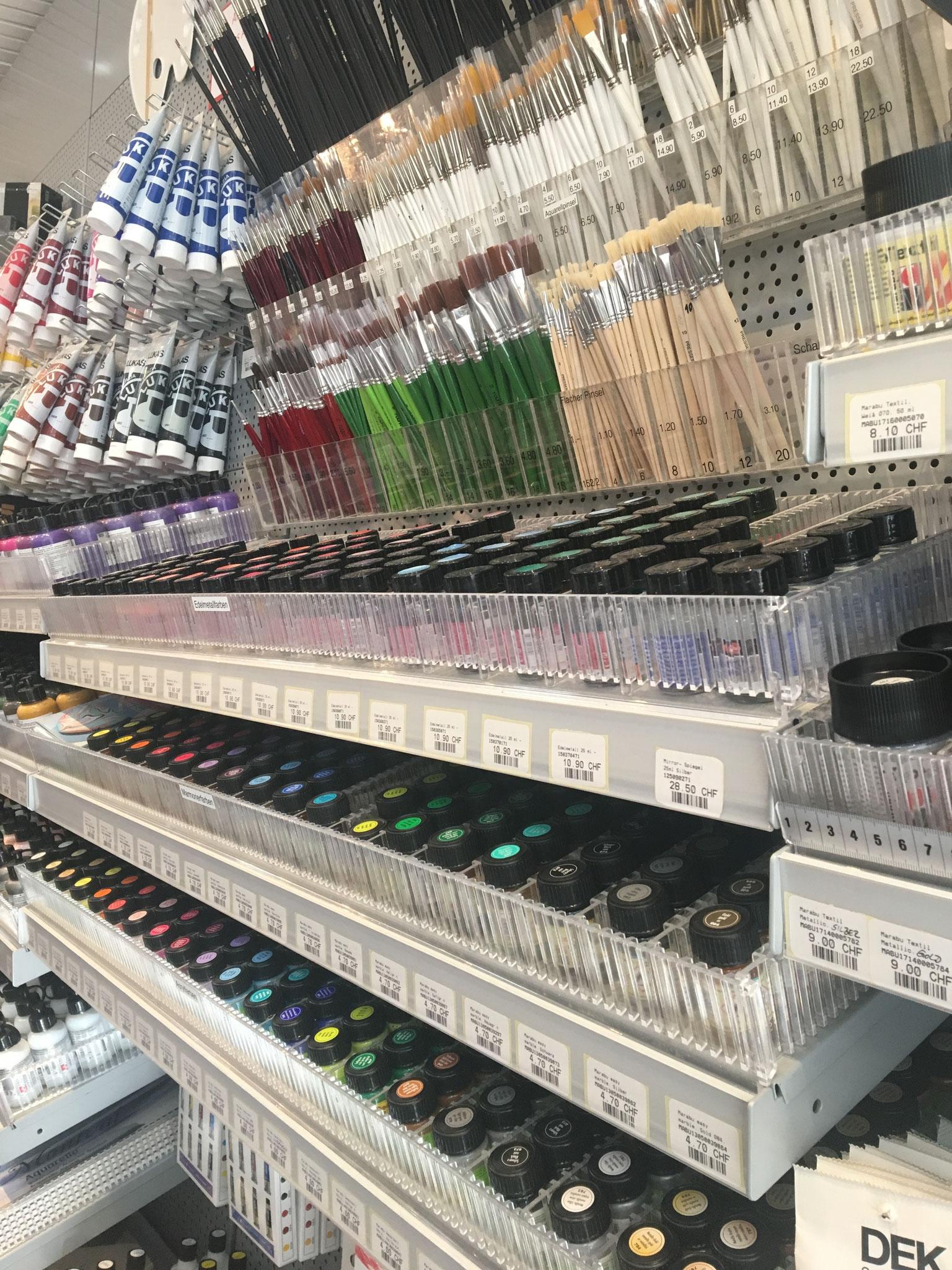 Farben & Pinsel