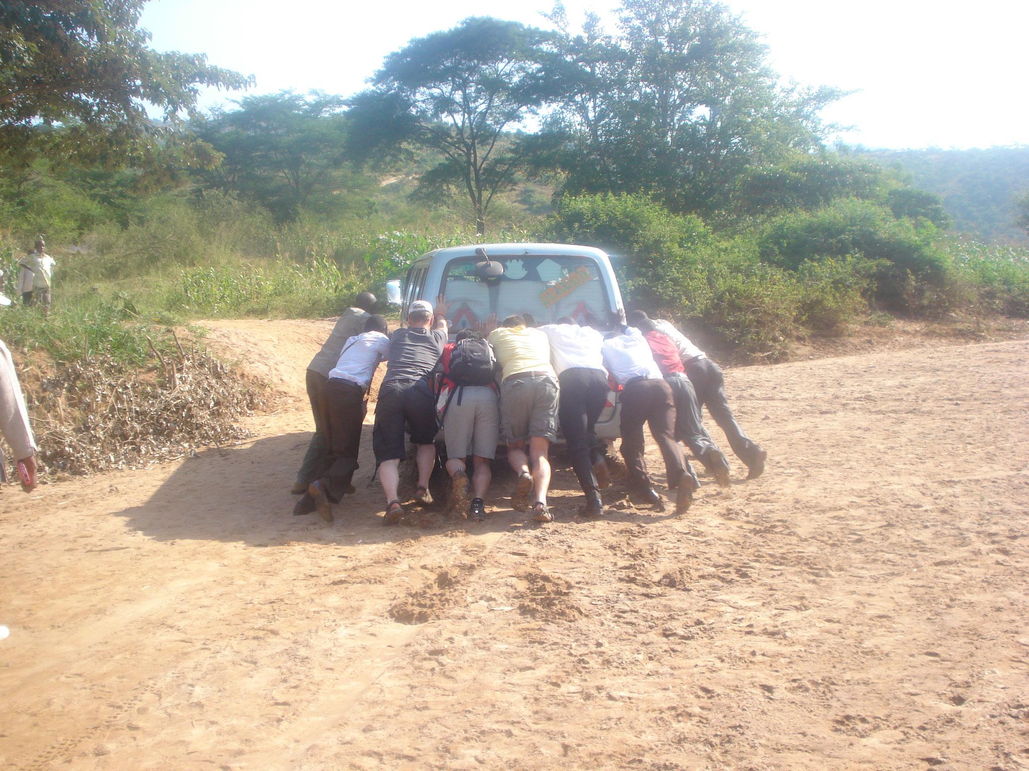 Freiwilligenarbeit heisst, einander zu helfen....wo und wie auch immer.
