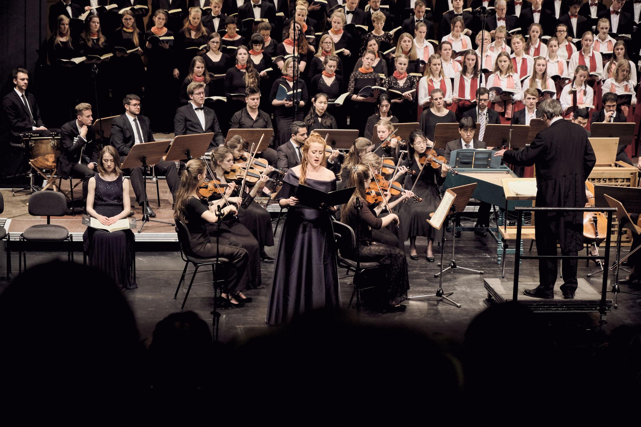 BACHFEST Rostock: H-Moll Messe 2019//Katharinensaal  - Foto: M. Dalchow
