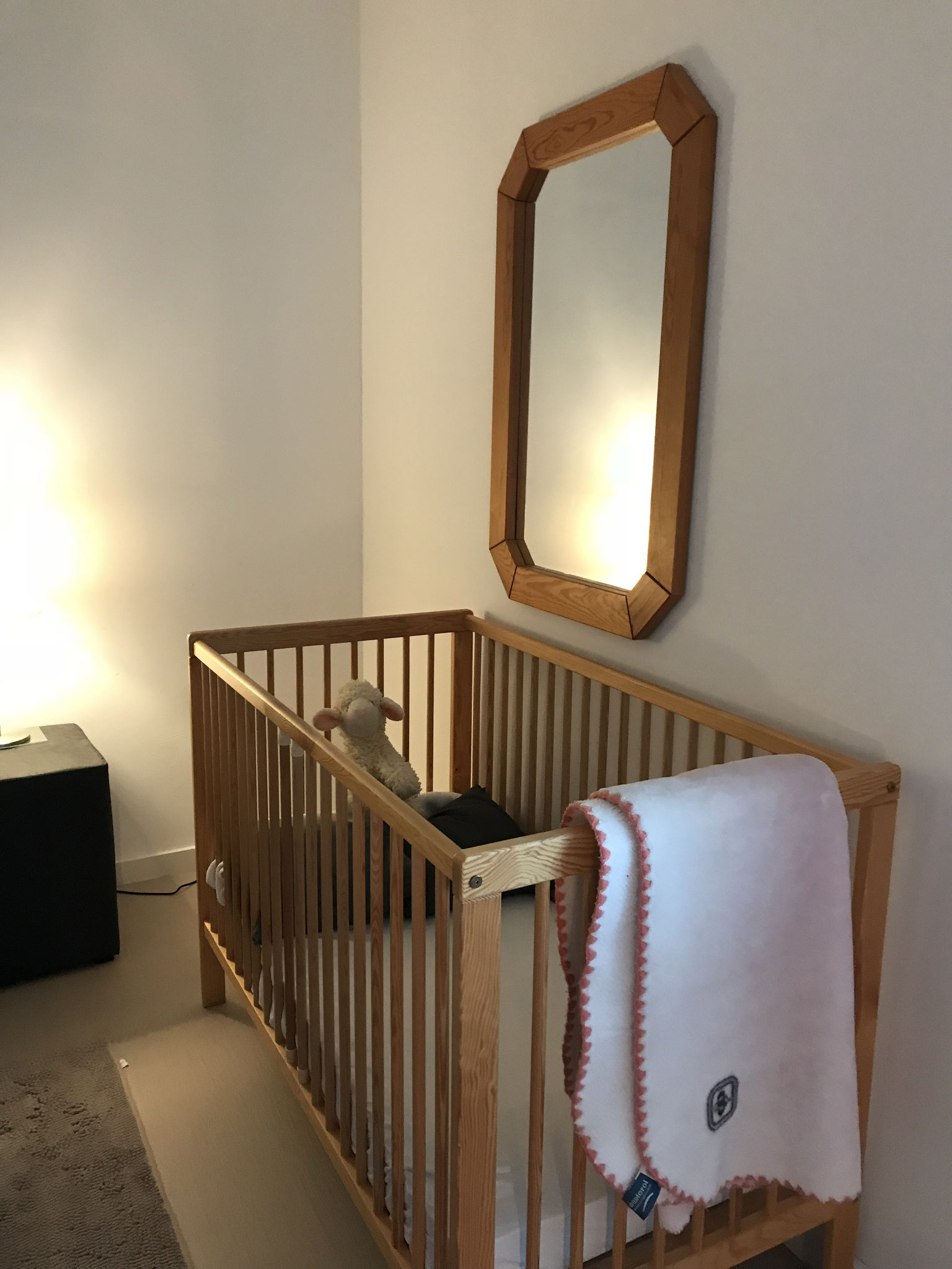 for the little ones there is also a cot