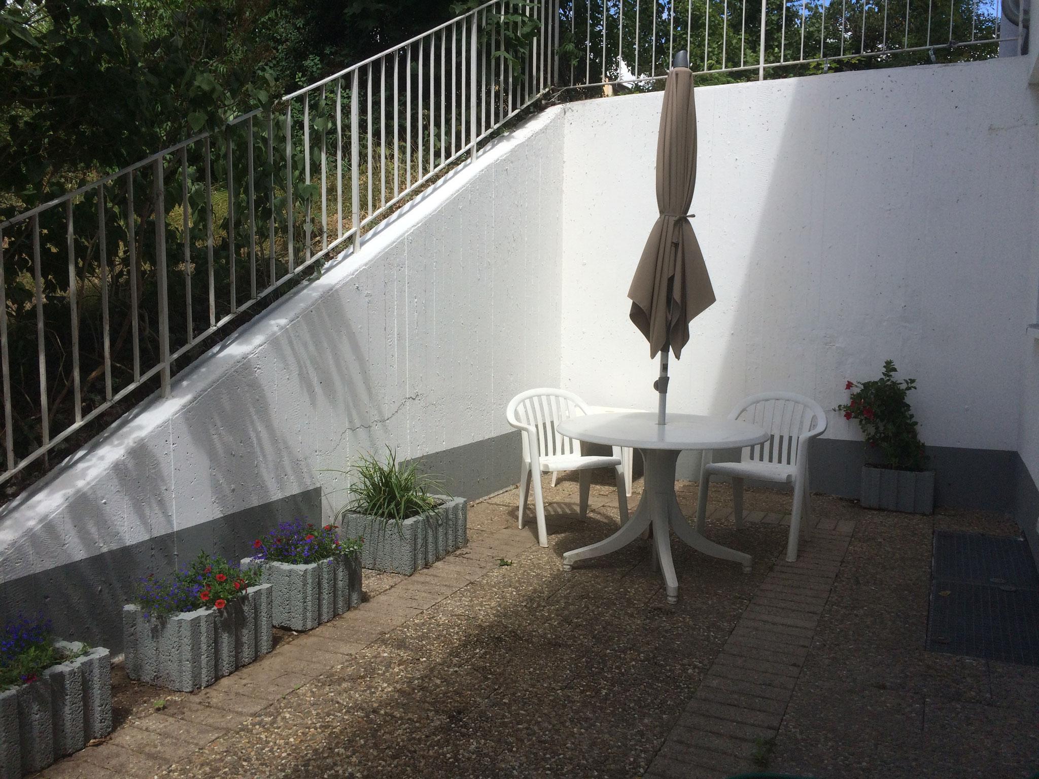 Terrasse  zur alleinigen Verfügung