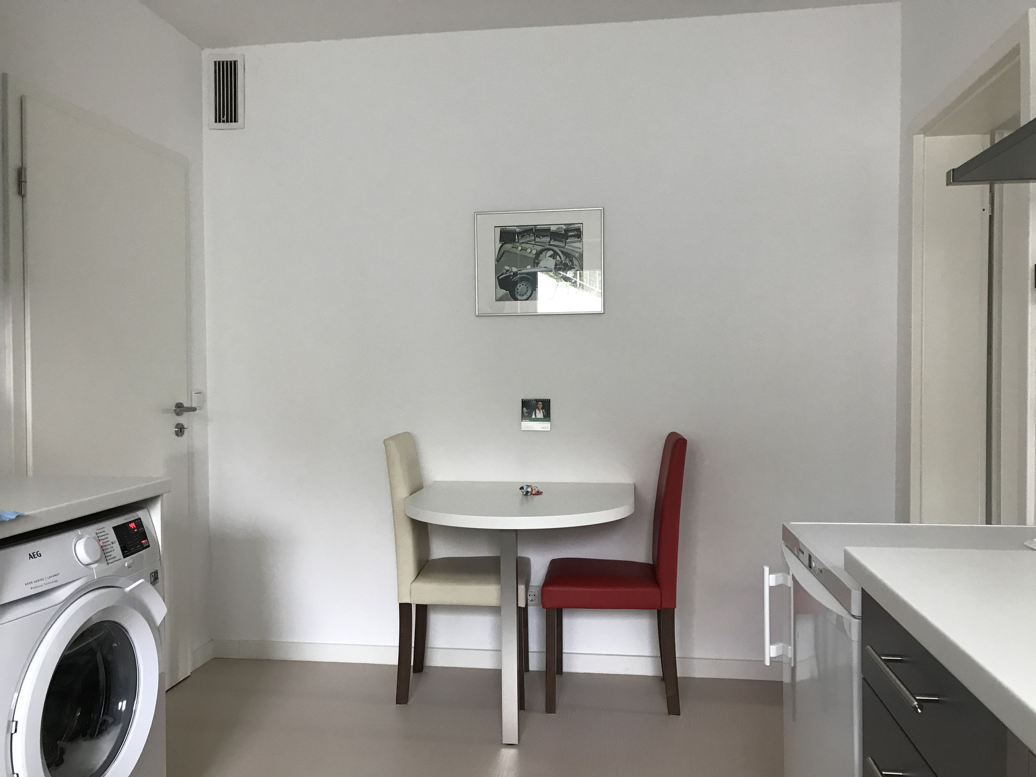 Functional dining area in the kitchen