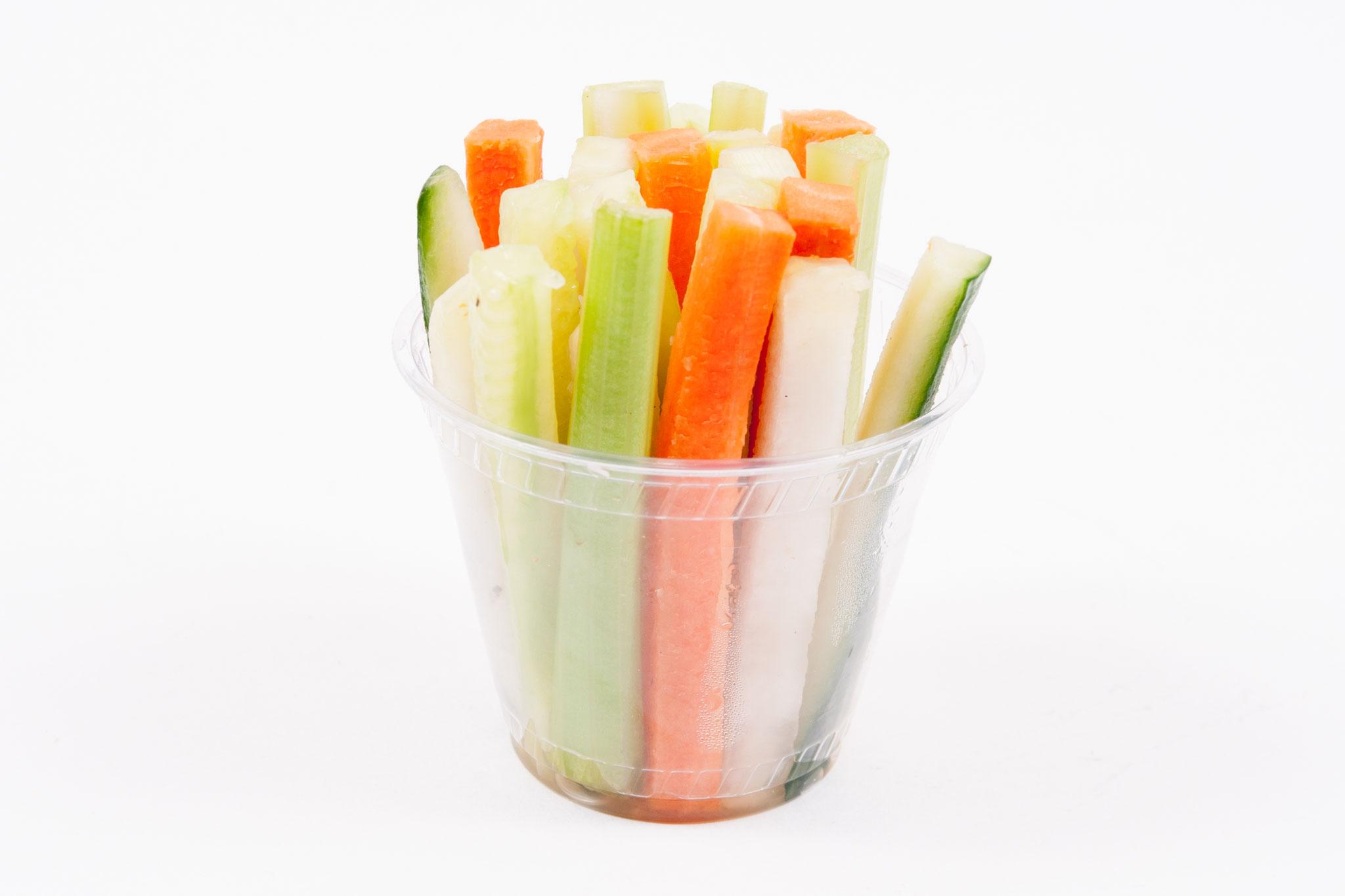 Gemüsesticks - Becher