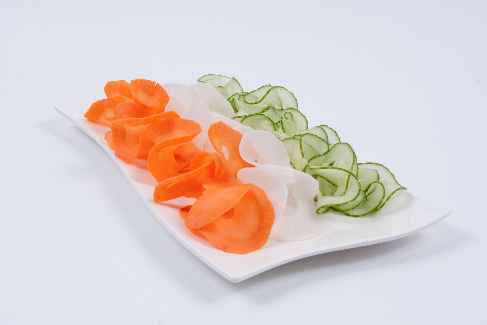Karotten-Radi-Gurke - Spirale