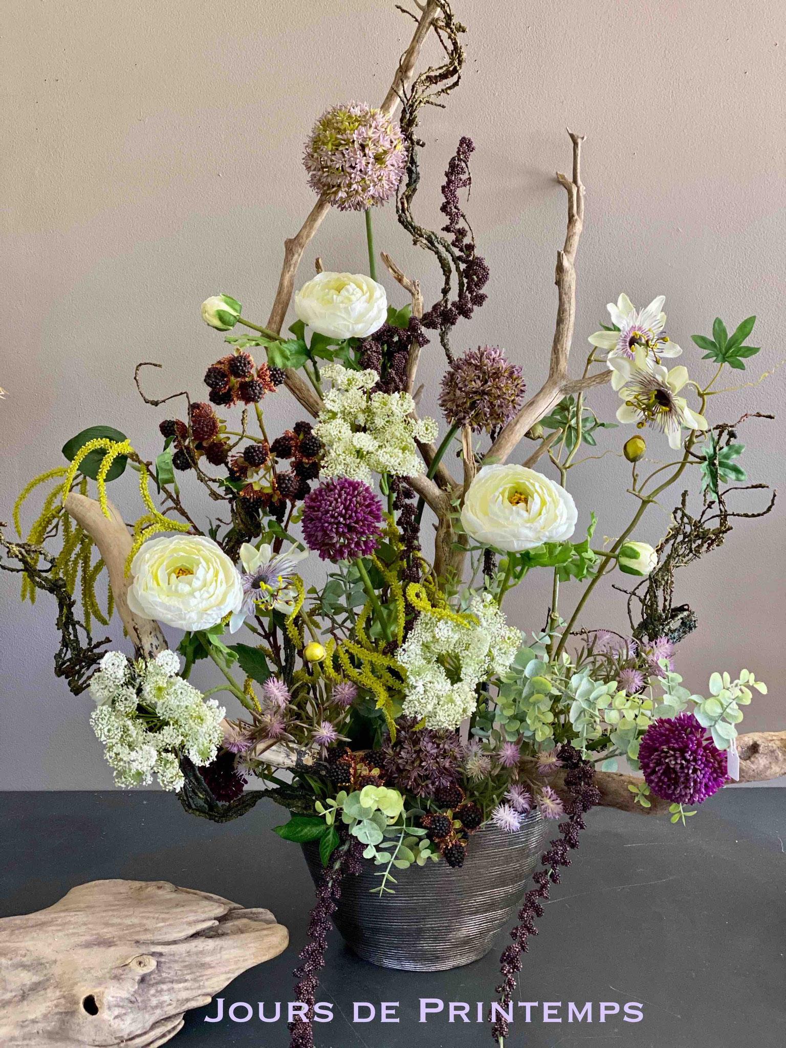 Fleurs artificielles haut de gamme