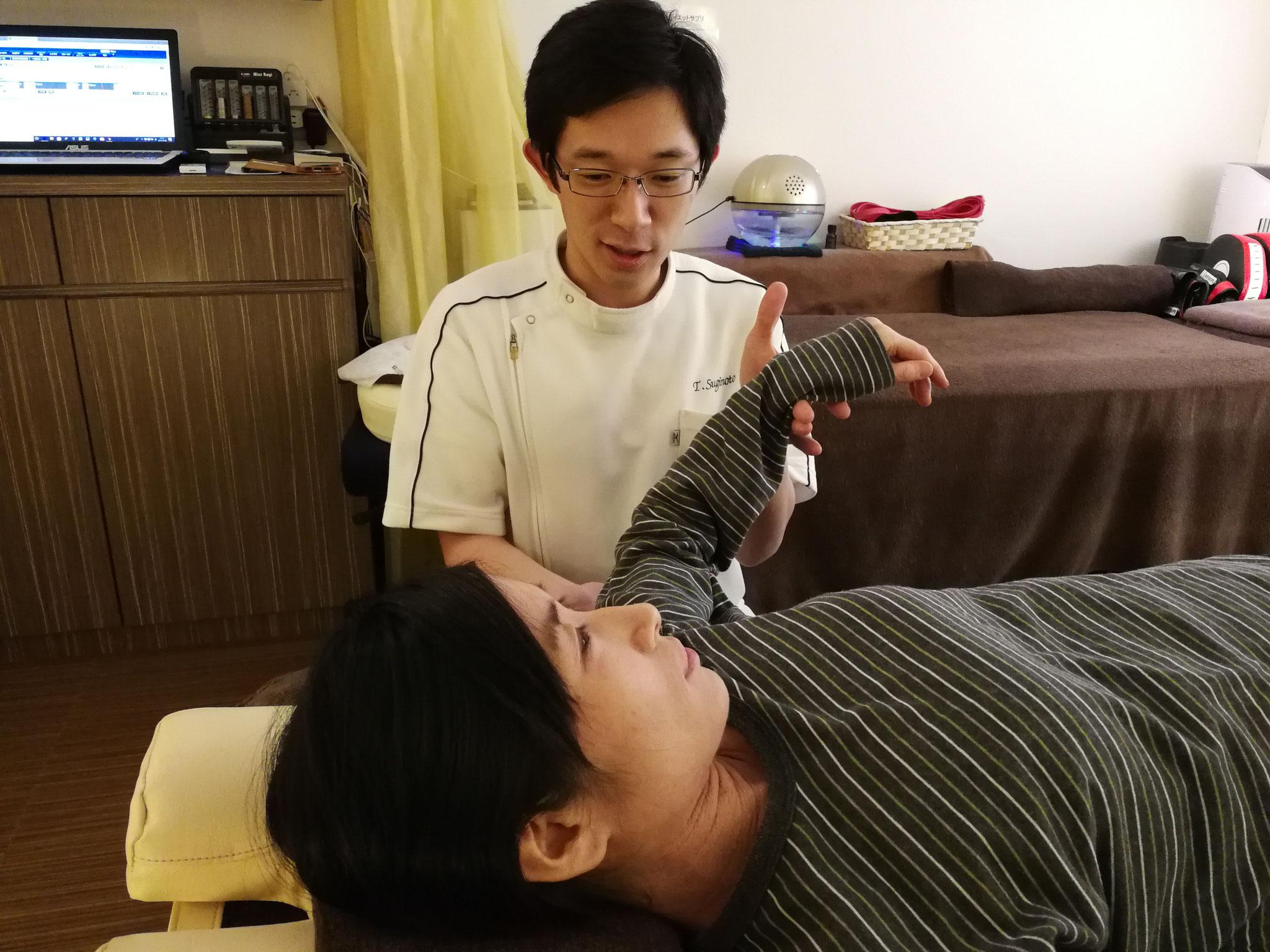 四十肩・五十肩の運動機能回復支援