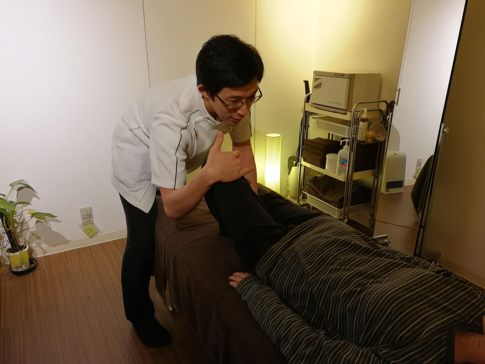 下肢の運動機能回復支援