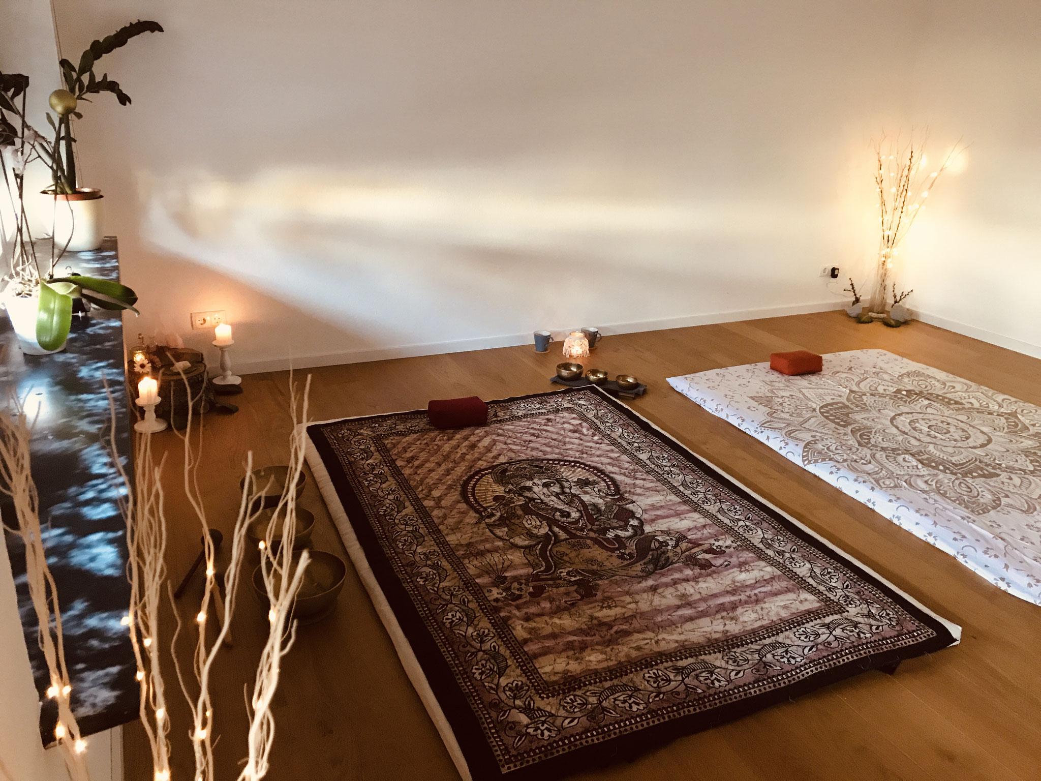 Thai Yoga Massage meets Klangschalen Massage für 2 Perrsonen