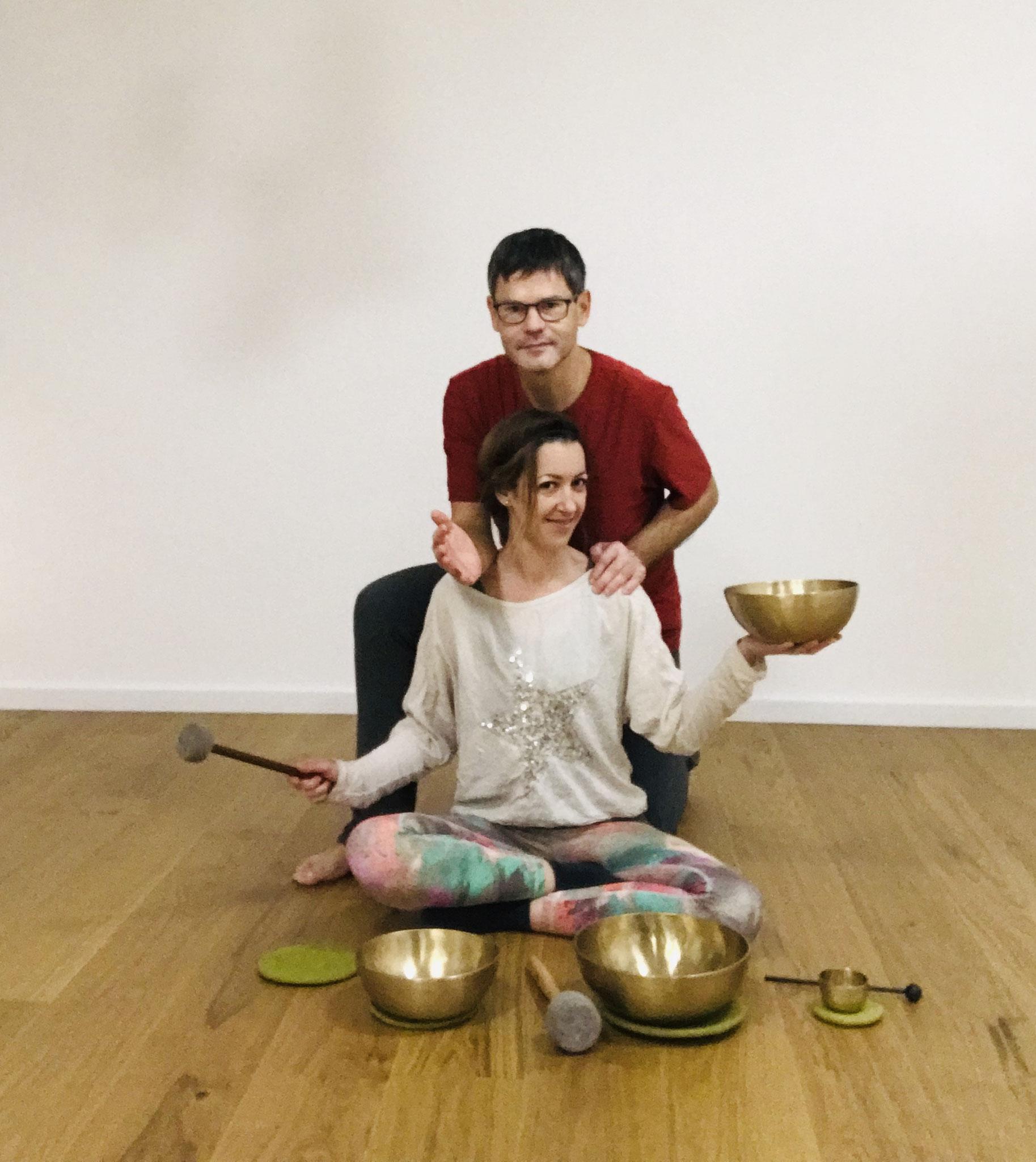 Thai Yoga Massage meets Klangschalen Massage....