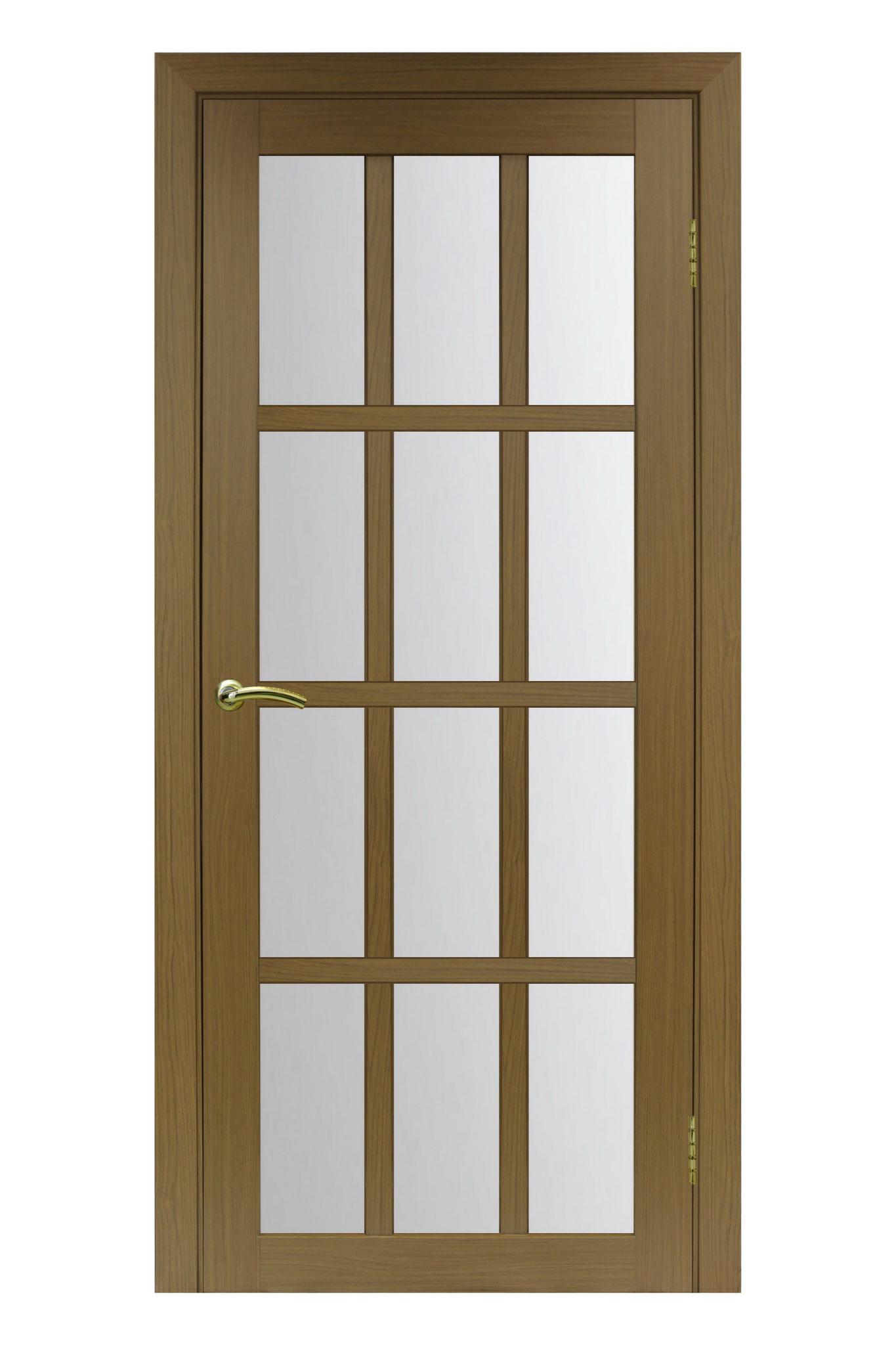 """Полотно """"Турин 542"""", орех классик, стекло сатин. Цена: 4770 рублей"""