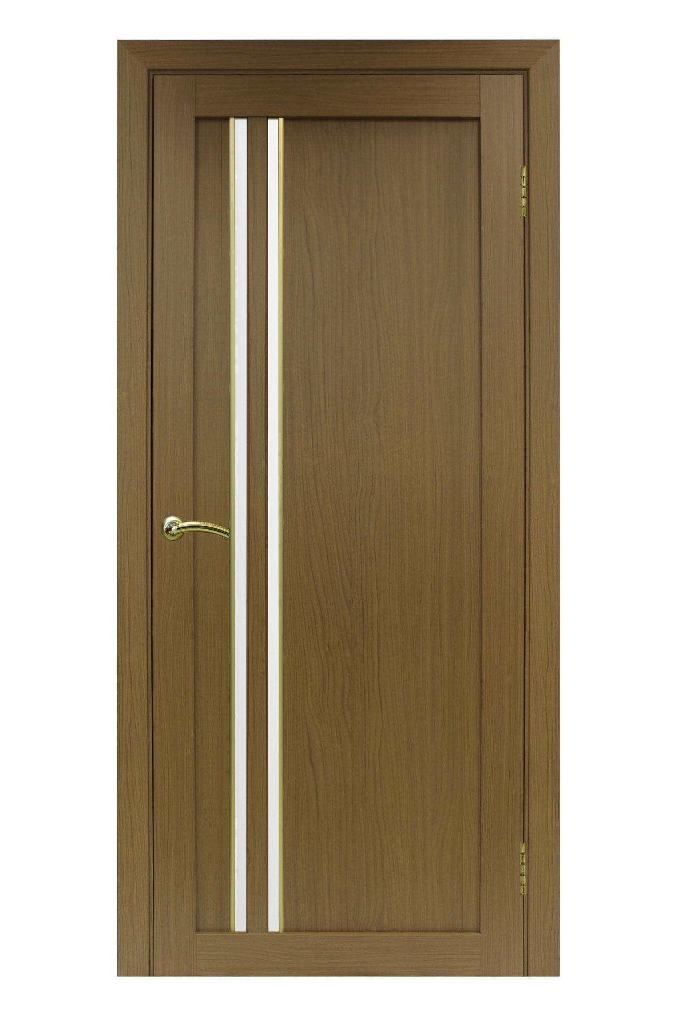 """Полотно """"Турин 525 АПС"""", орех классик, молдинг """"матовое золото"""", стекло сатин. Цена: 4350 рублей"""