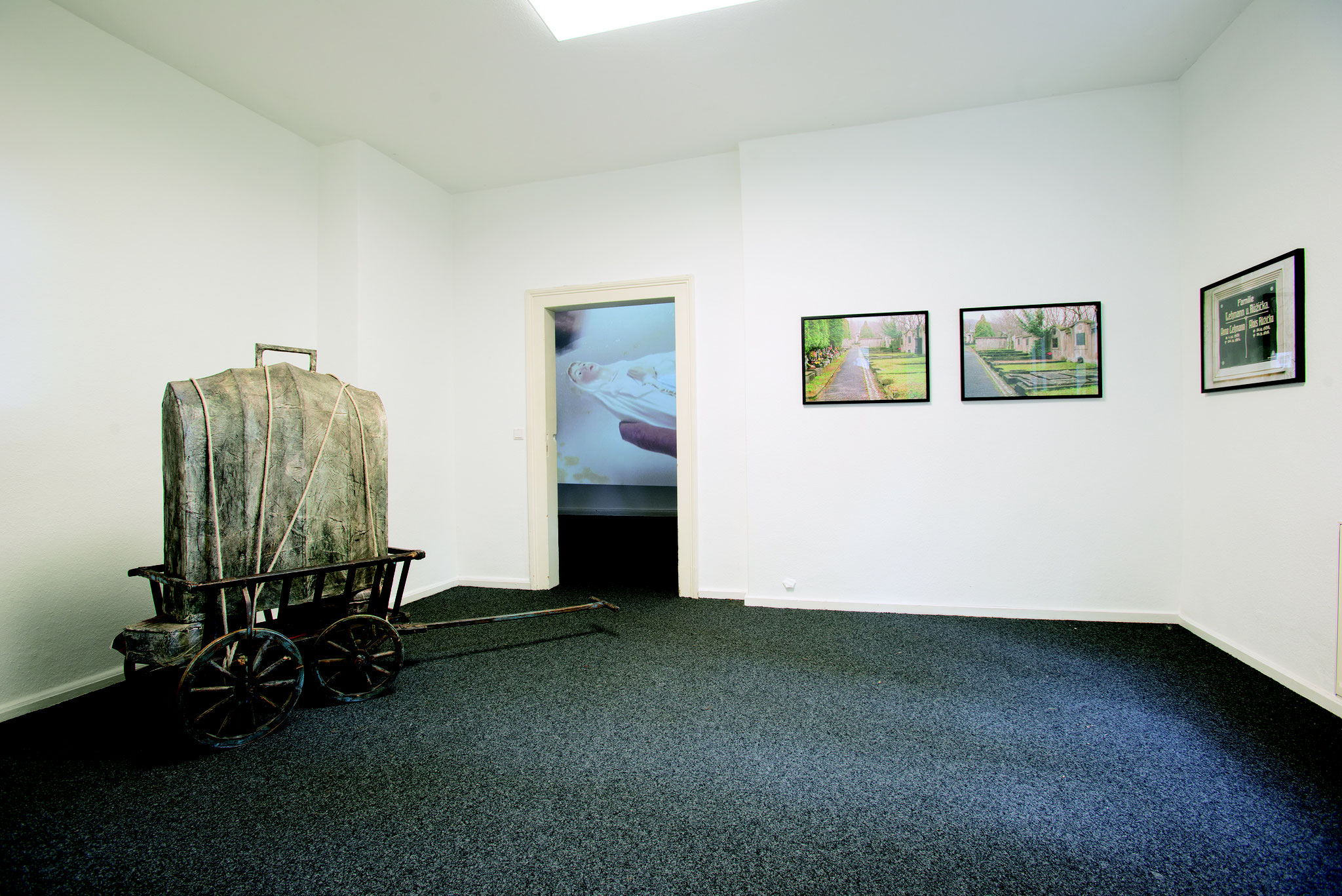 installtionsansicht Donath / Lorenz Höfer