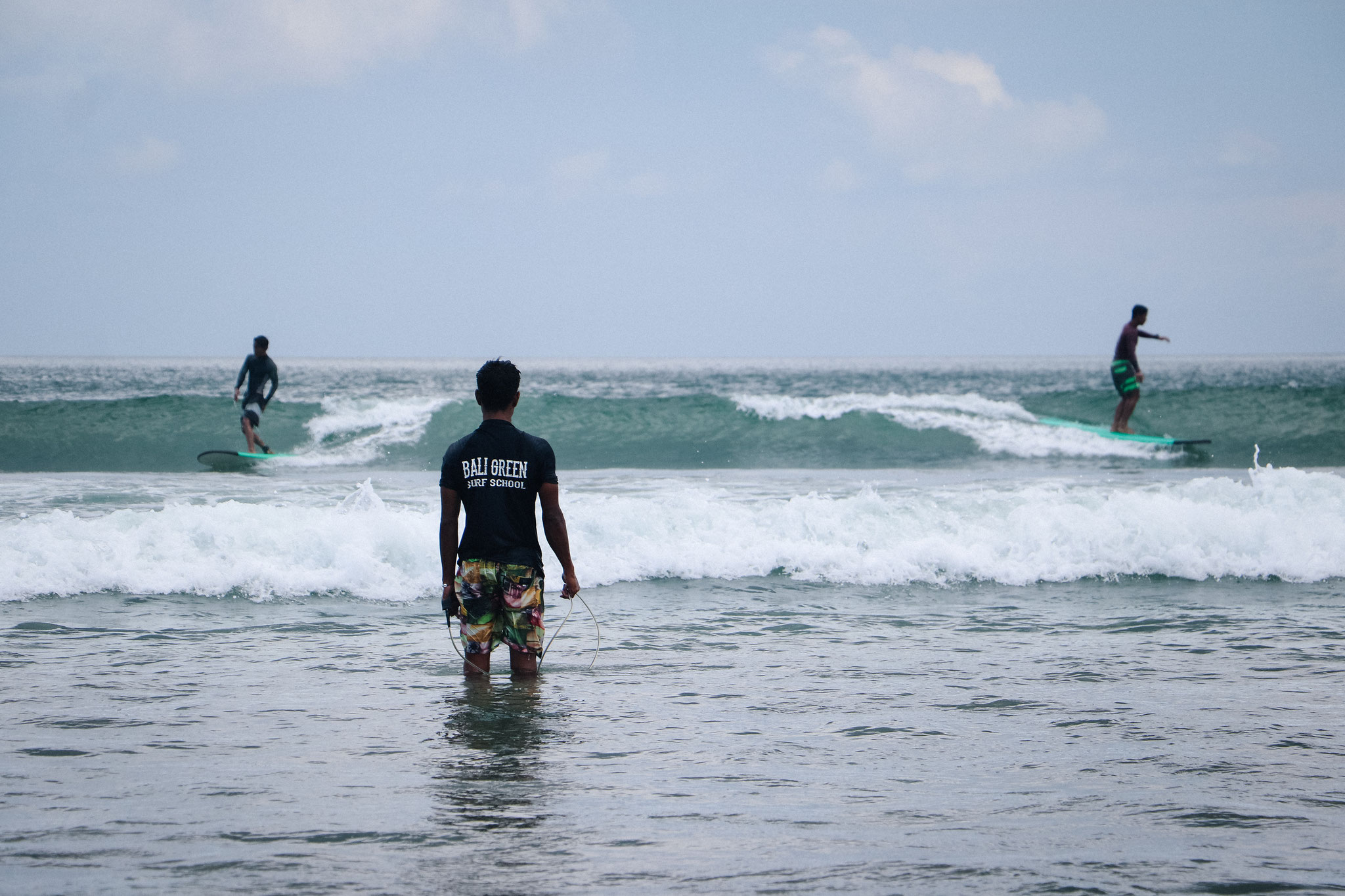 Surfen Lernen für Anfänger in Bali