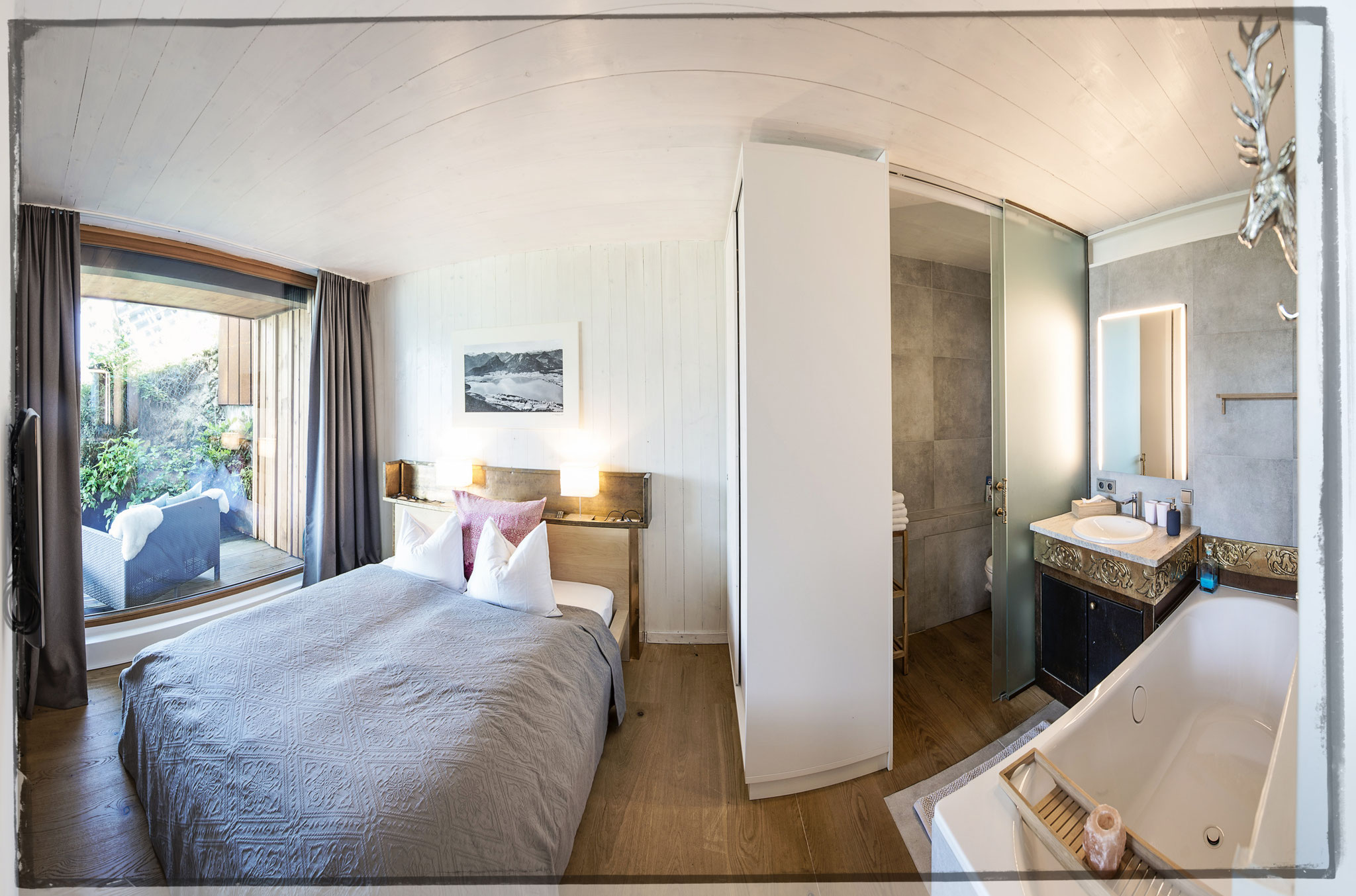 Schlafzimmer Apartment Kleine Nachtmusik