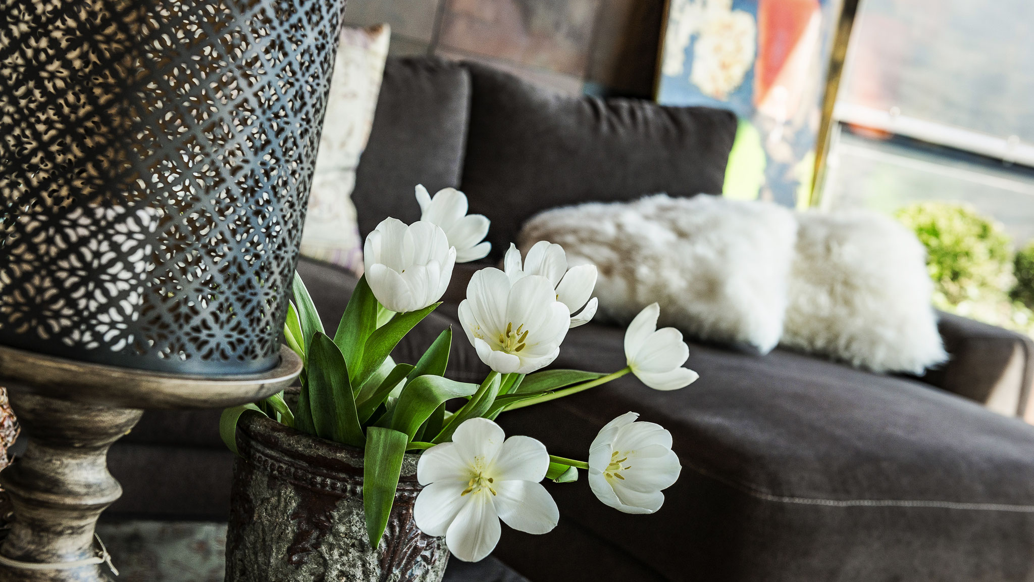 Detailfoto Wohnzimmer Apartment Figaro