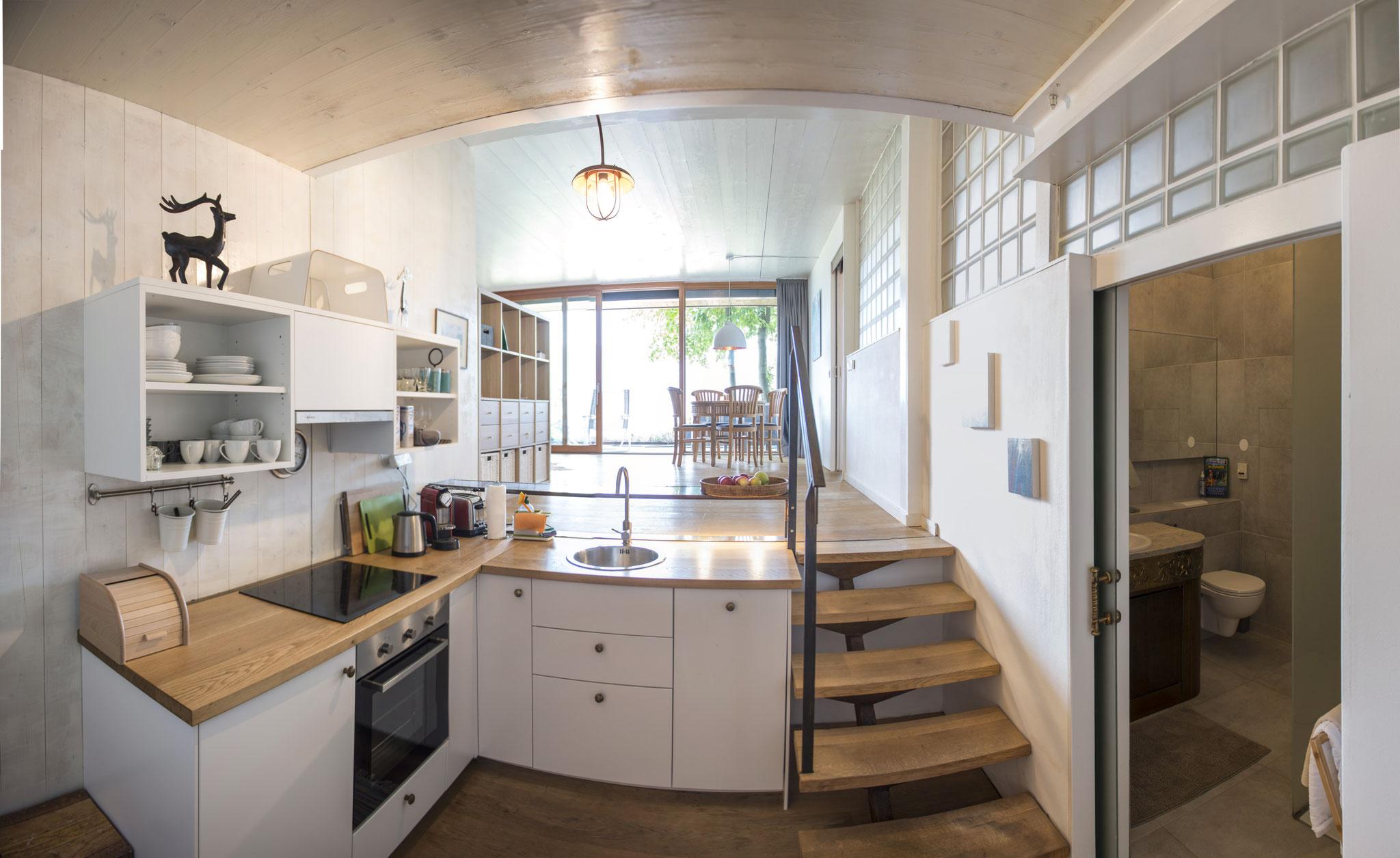 Küche Apartment Kleine Nachtmusik