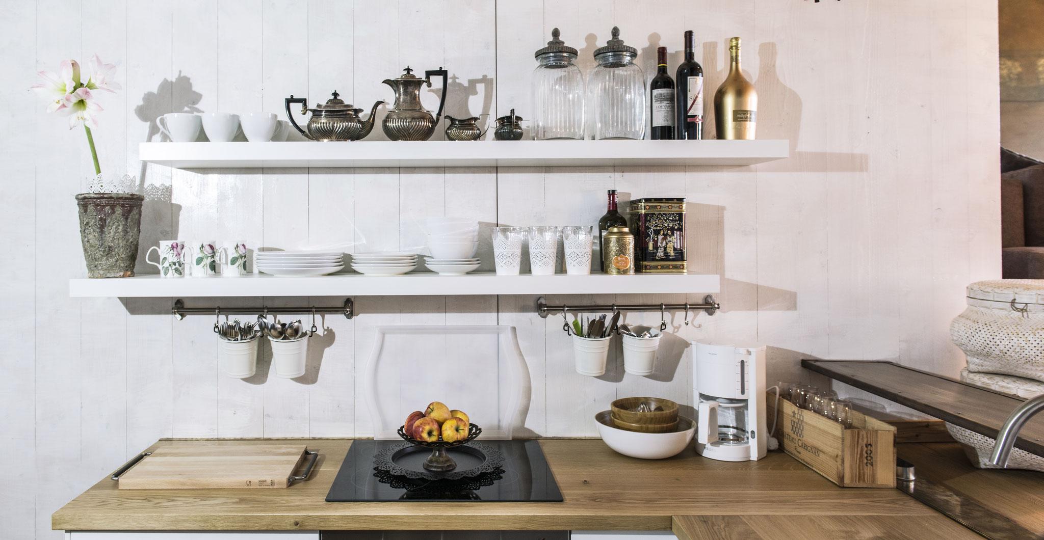 Küche Detail Apartment Kleine Nachtmusik