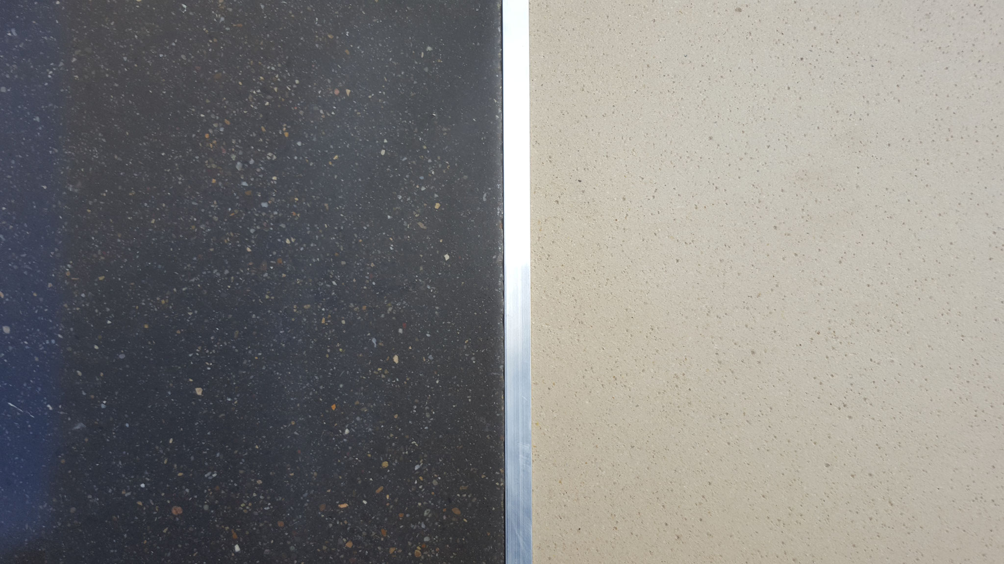 Schmale Metallschiene