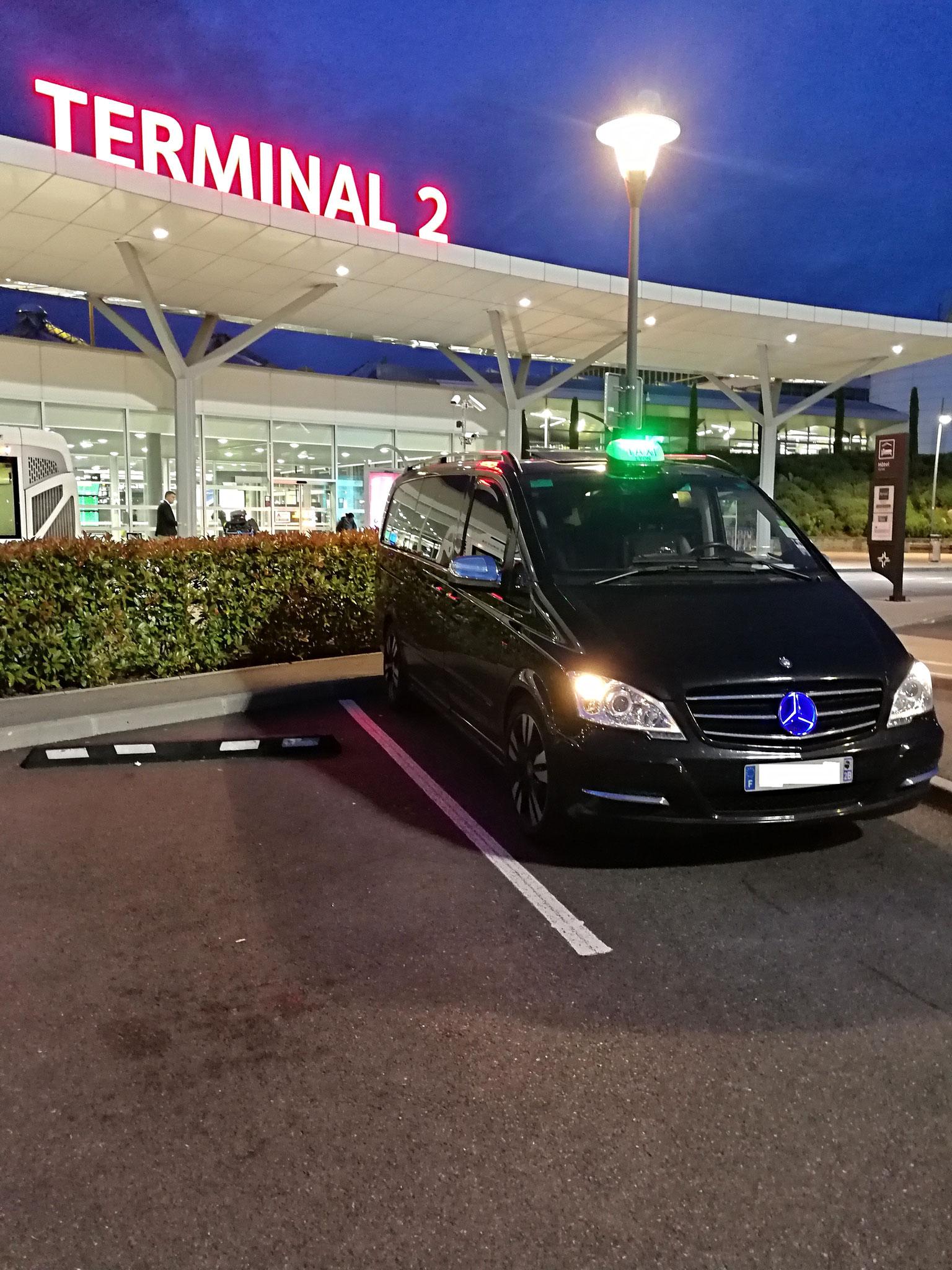 Taxi Lyon Pro Aéroport Saint-Exupéry Lyon