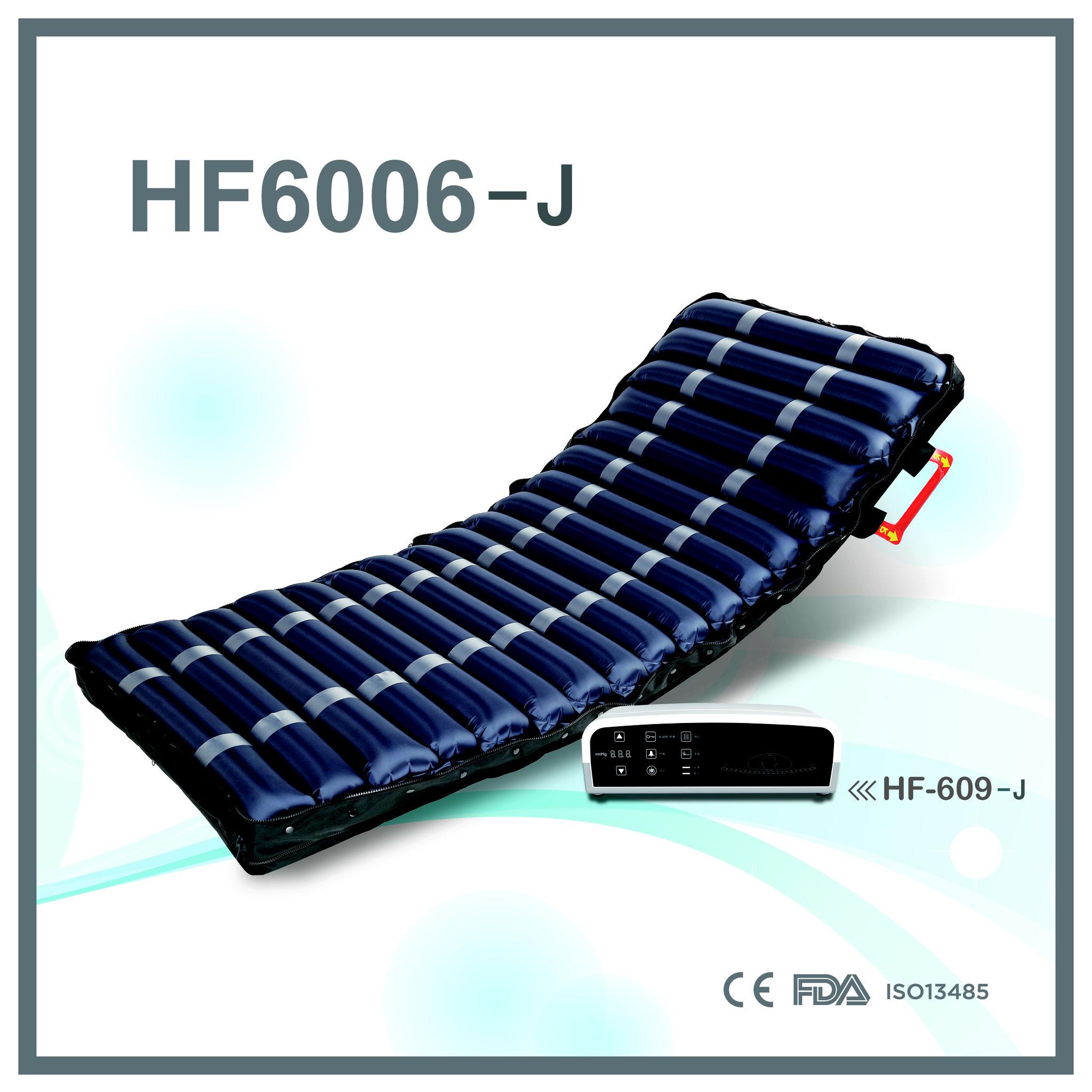 HF6006-J 病院対応 18本の13㎝径エアセルチューブ+低反発フォームマットレス