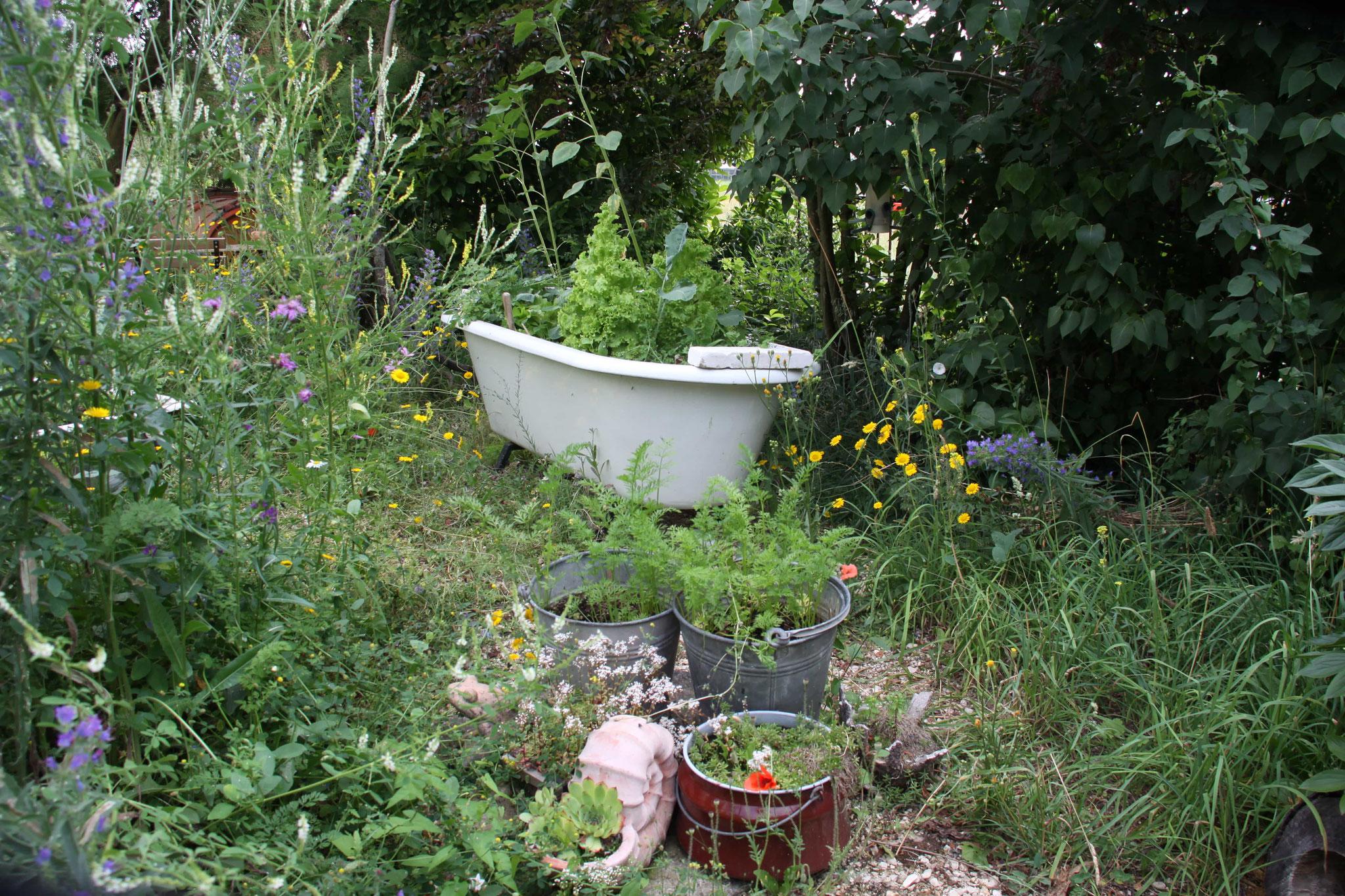 Gärtnern in Wannen