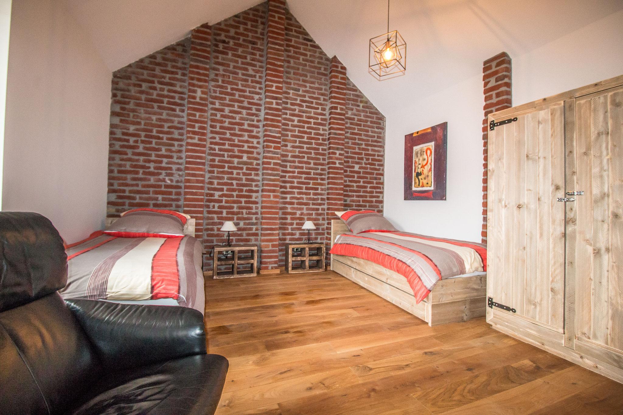 Jedes unserer Zimmer ist individuell und persönlich eingerichtet.