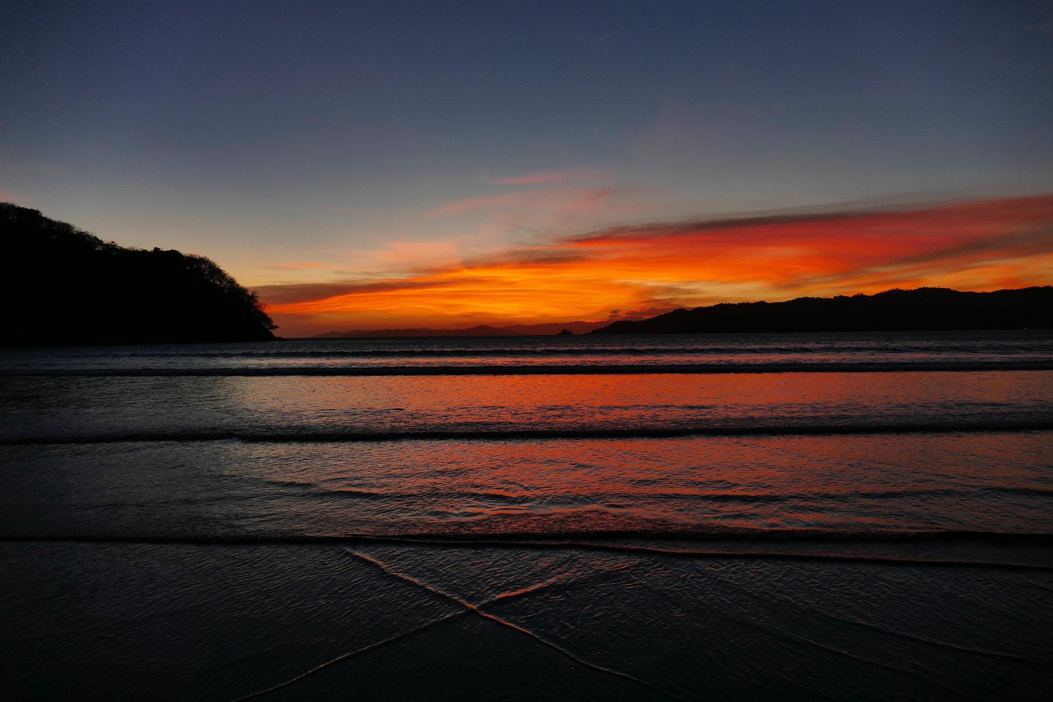 Sonnenuntergang beim Playa Venao