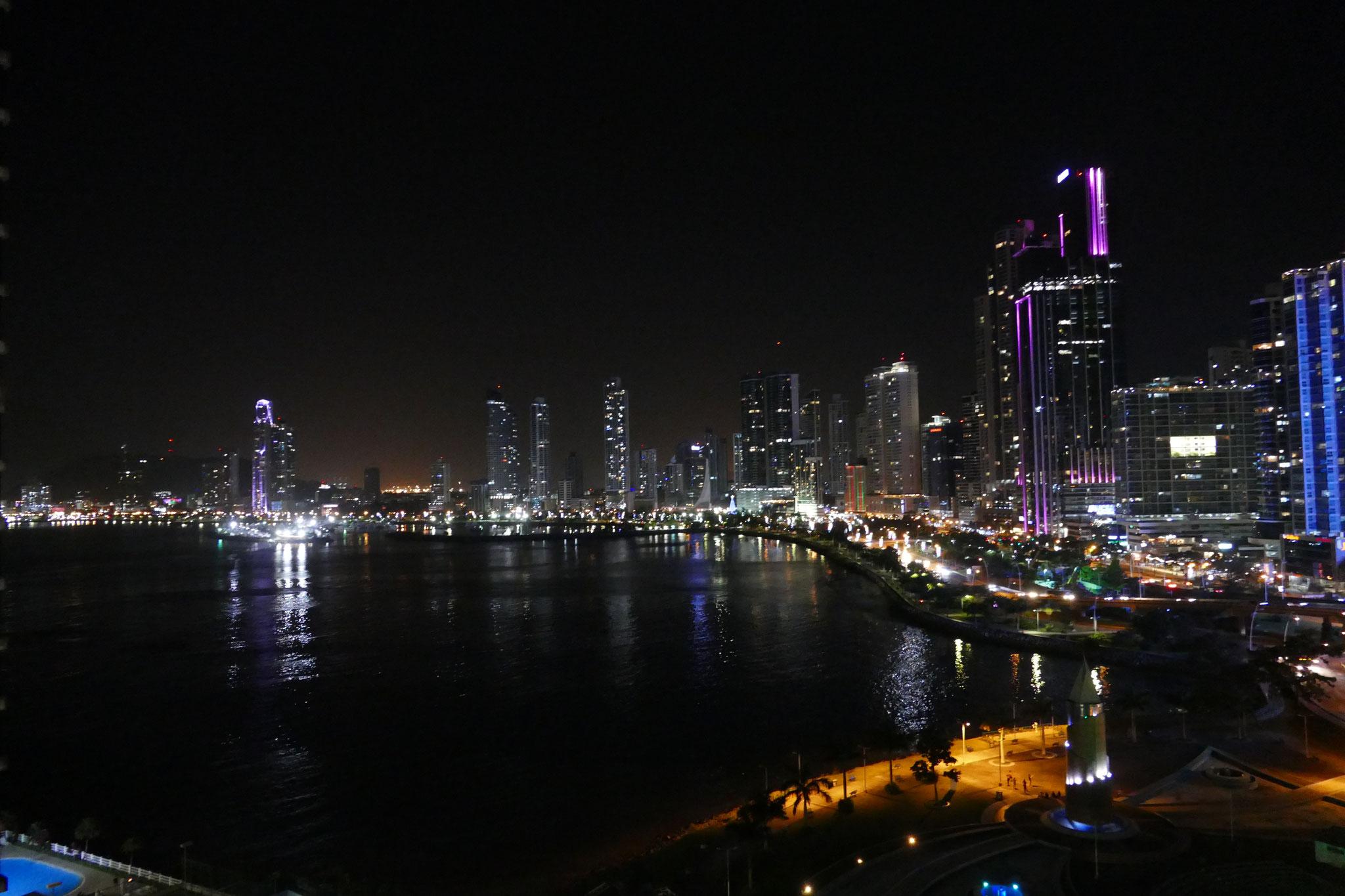 Die Aussicht vom Hotelzimmer Plaza Paitilla Inn, Panama City